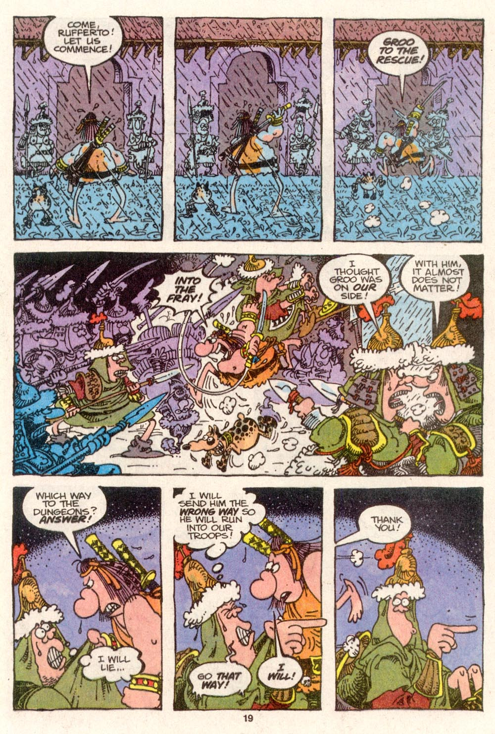 Read online Sergio Aragonés Groo the Wanderer comic -  Issue #79 - 15