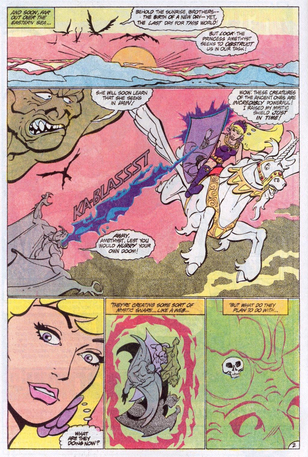 Read online Amethyst (1985) comic -  Issue #10 - 4