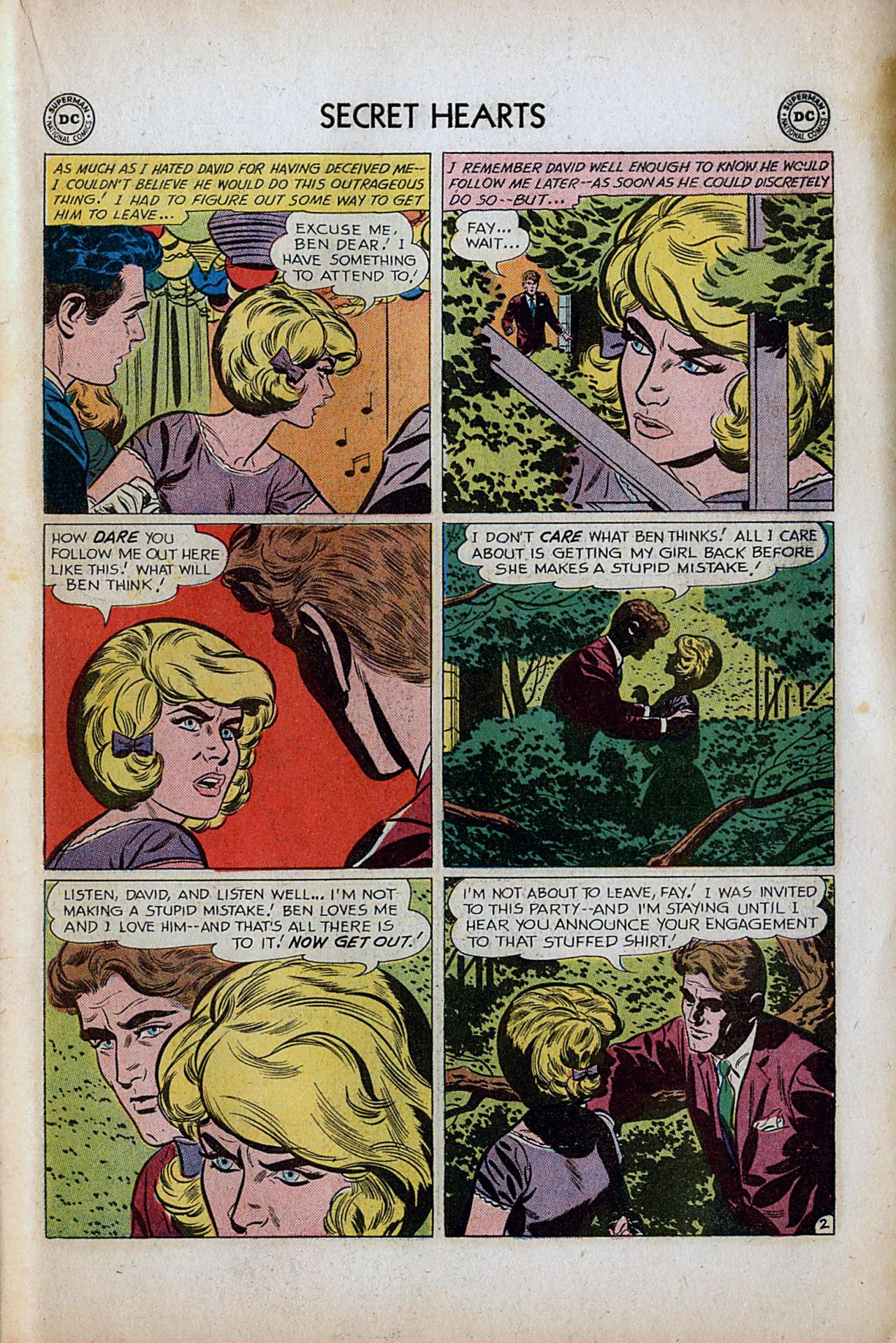 Read online Secret Hearts comic -  Issue #80 - 19