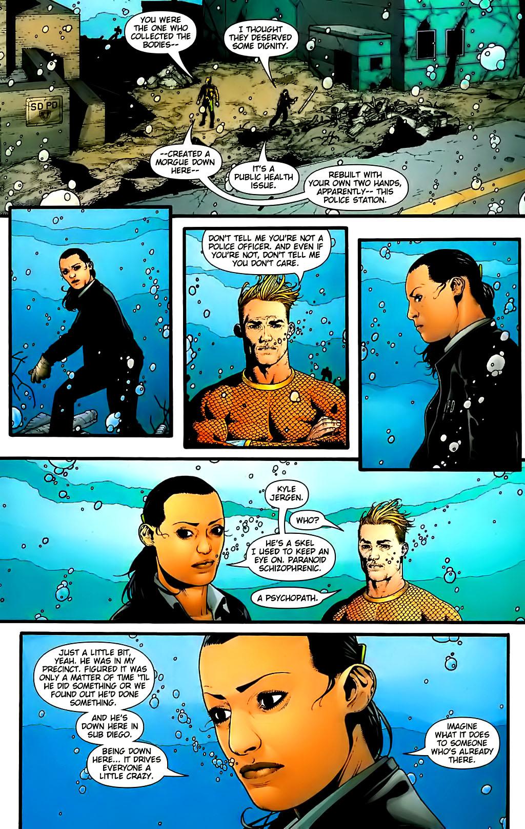 Read online Aquaman (2003) comic -  Issue #30 - 14