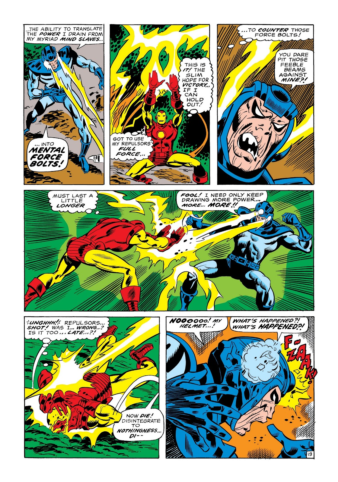 Read online Marvel Masterworks: The Invincible Iron Man comic -  Issue # TPB 7 (Part 1) - 67