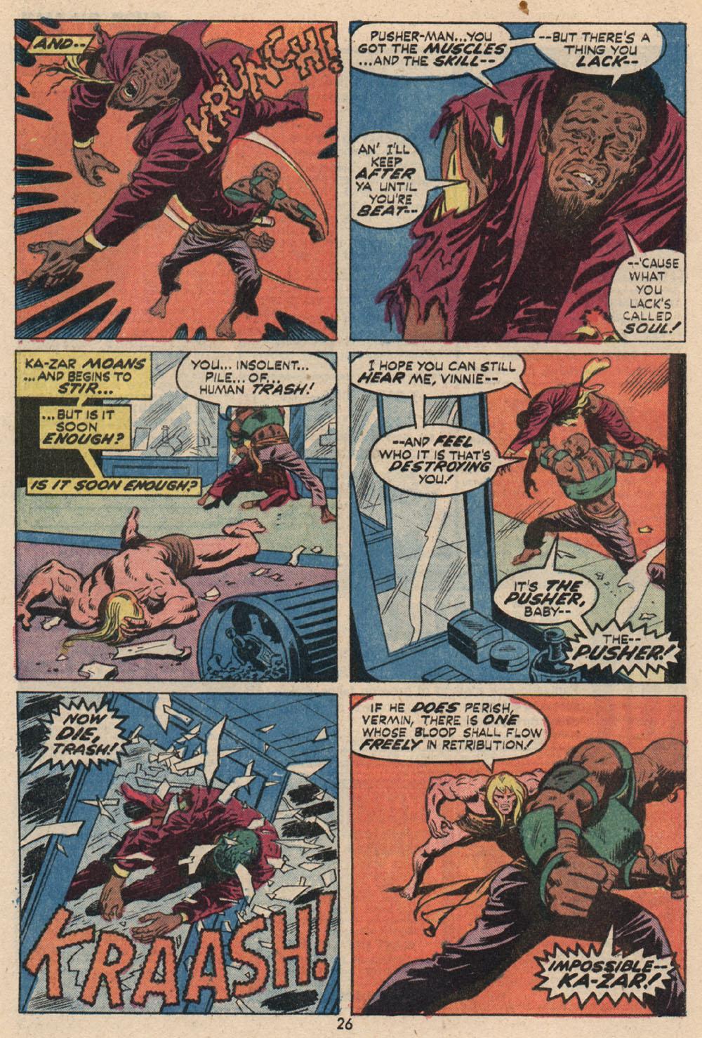 Read online Astonishing Tales (1970) comic -  Issue #16 - 18