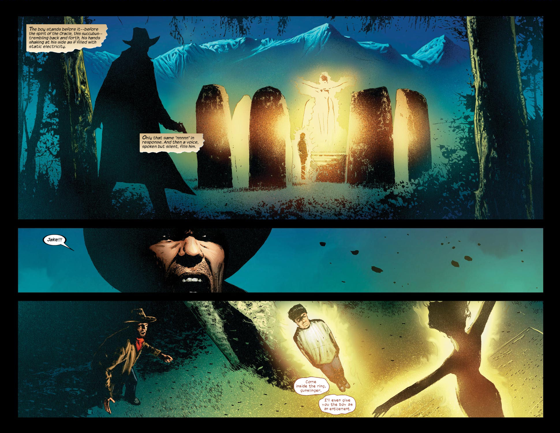 Read online Dark Tower: The Gunslinger - The Way Station comic -  Issue #4 - 21