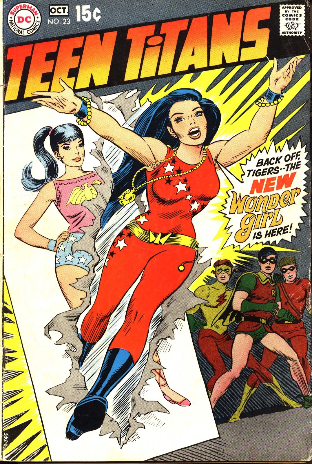 Teen Titans (1966) issue 23 - Page 1