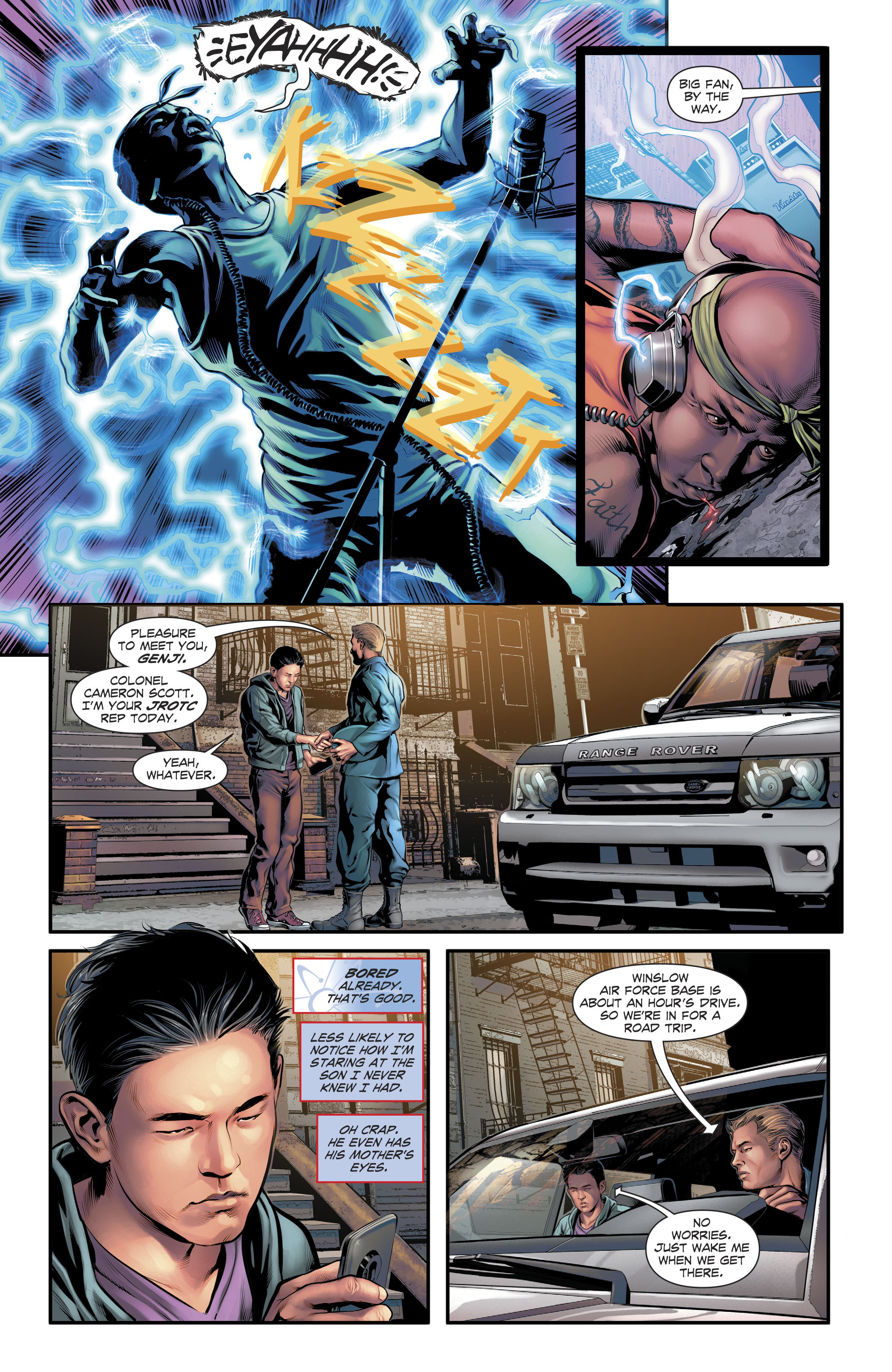 Read online The Fall and Rise of Captain Atom comic -  Issue #5 - 10