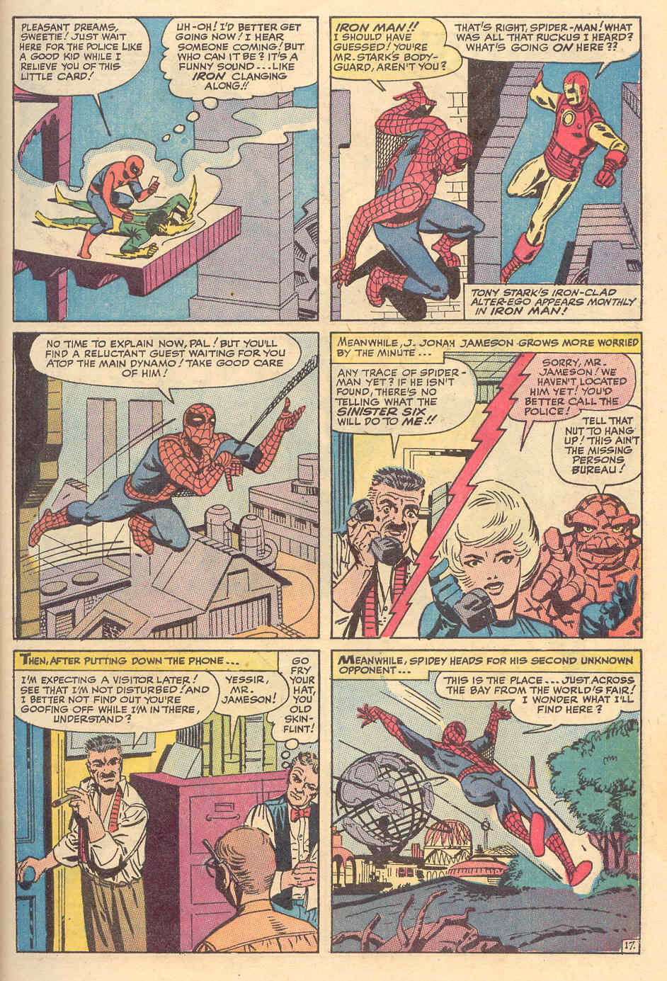 The Amazing Spider-Man (1963) _Annual_6 Page 17