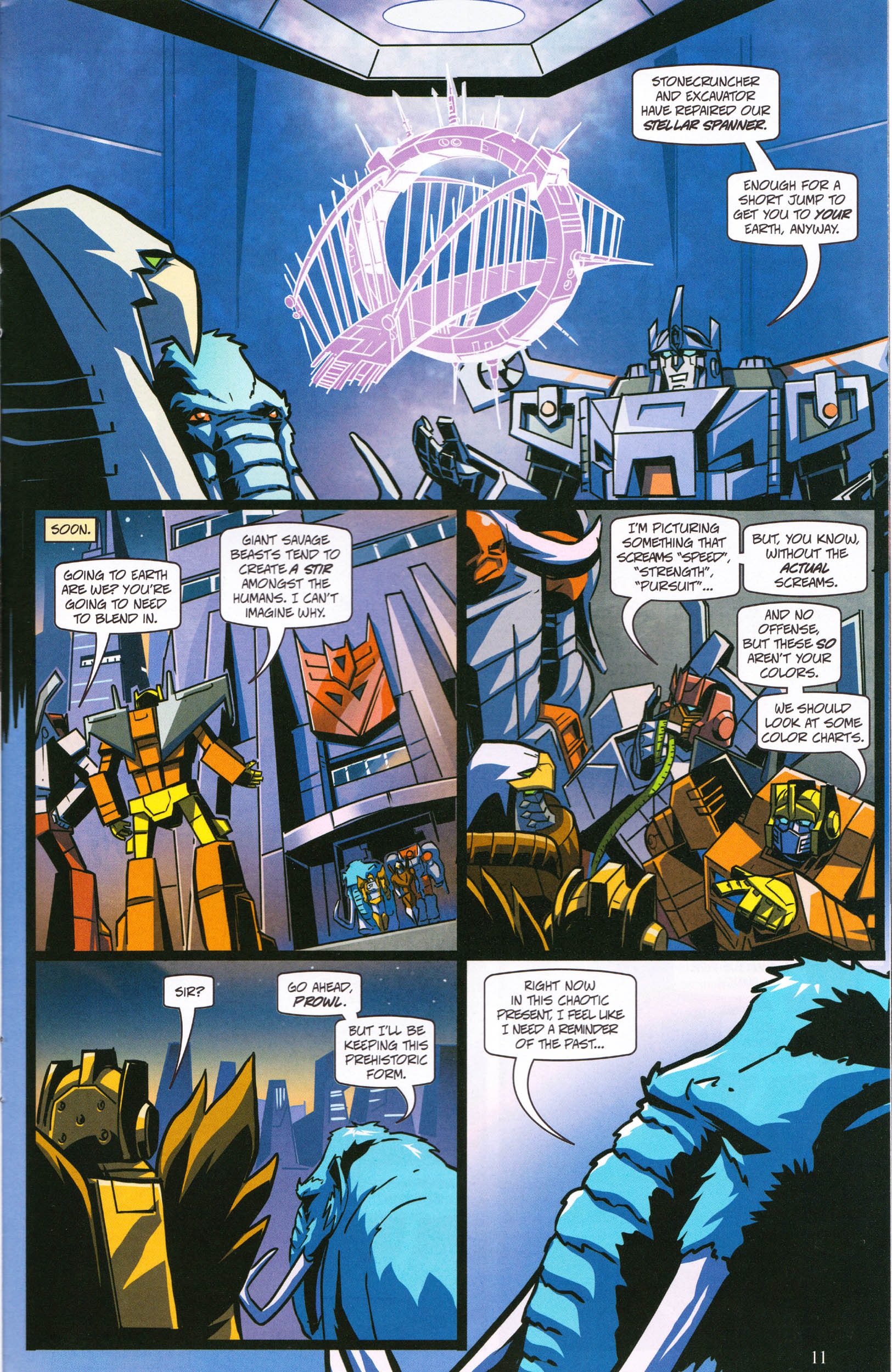 Read online Transformers: Collectors' Club comic -  Issue #61 - 11