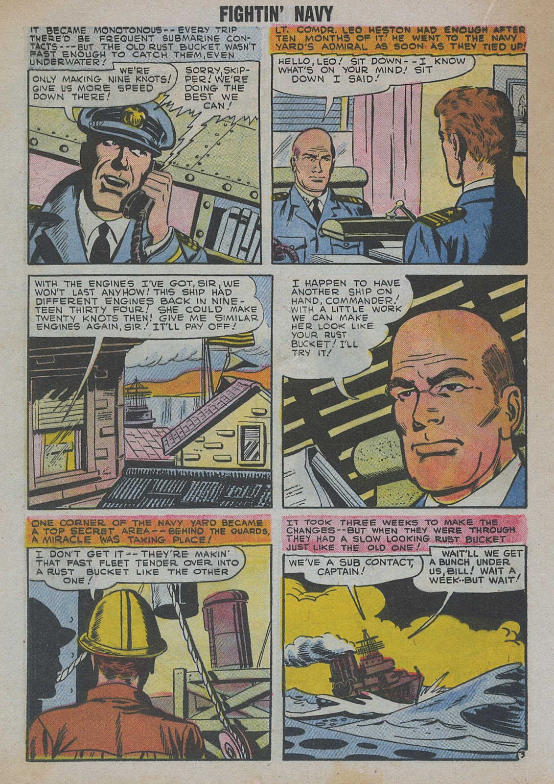 Read online Fightin' Navy comic -  Issue #82 - 36