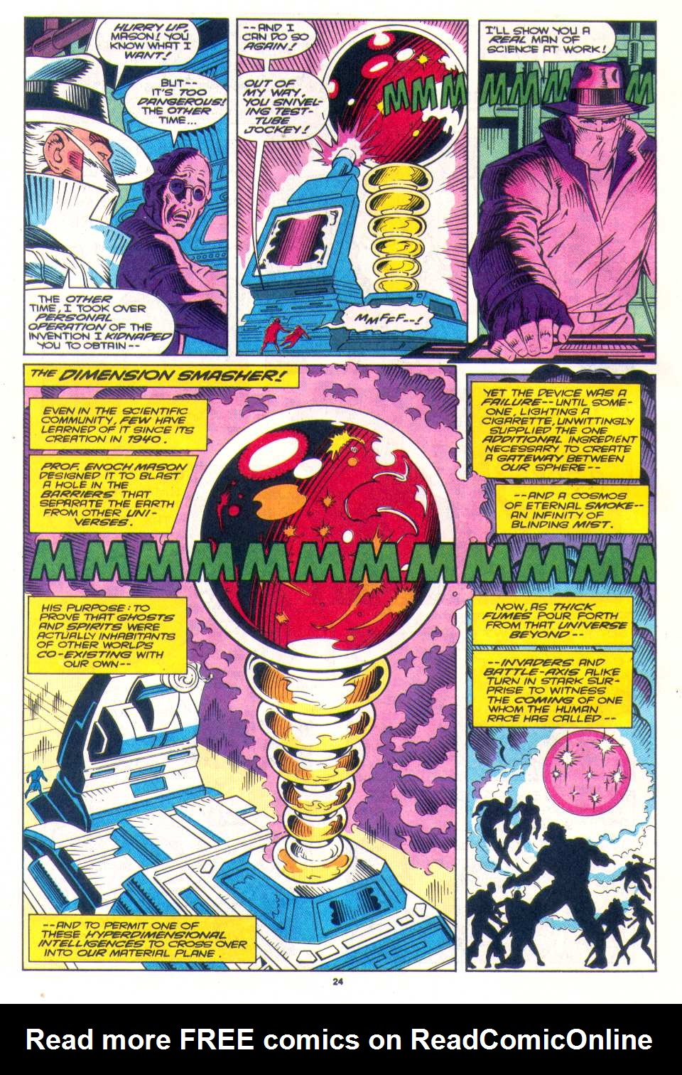 Read online The Invaders (1993) comic -  Issue #3 - 19