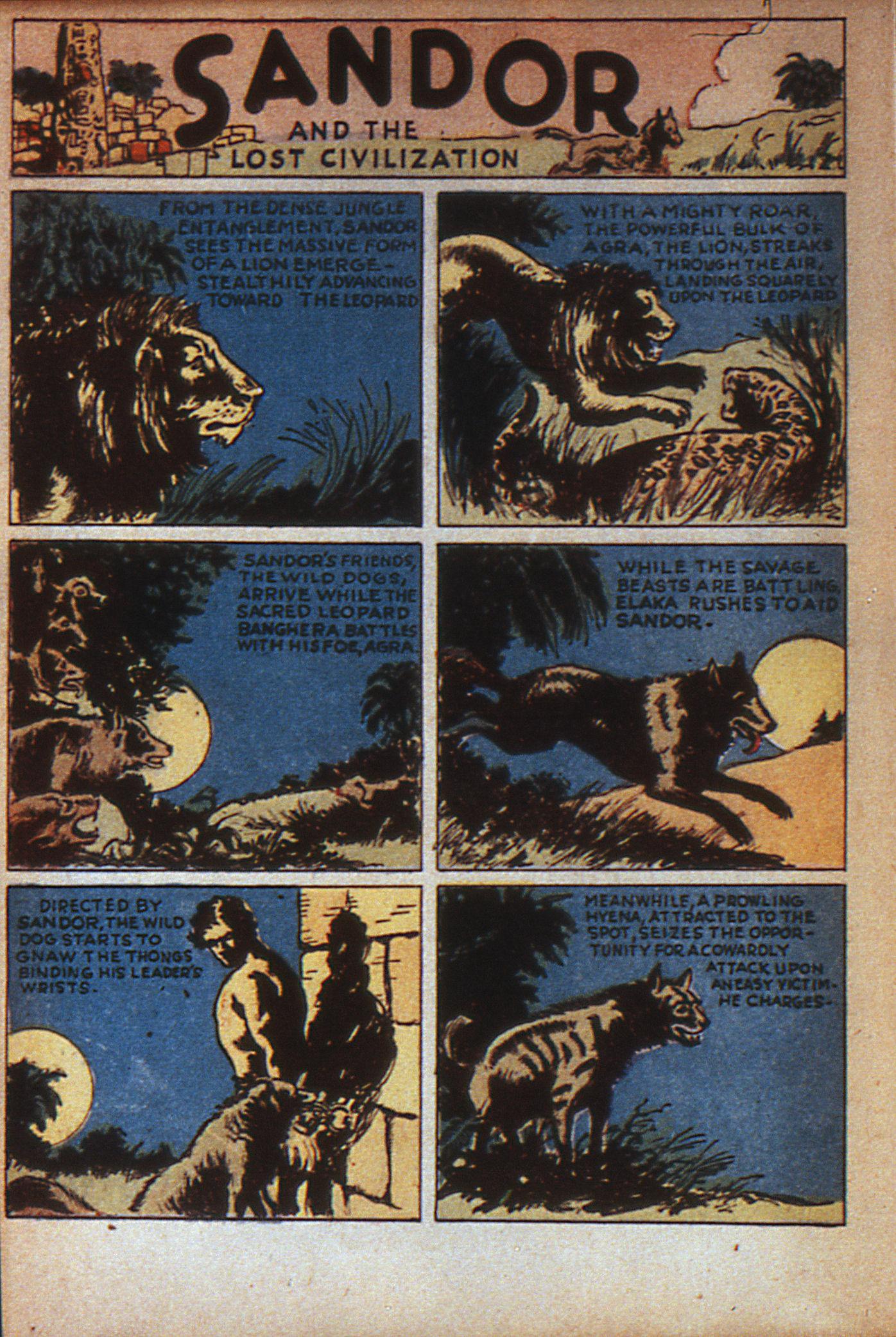 Read online Adventure Comics (1938) comic -  Issue #7 - 19
