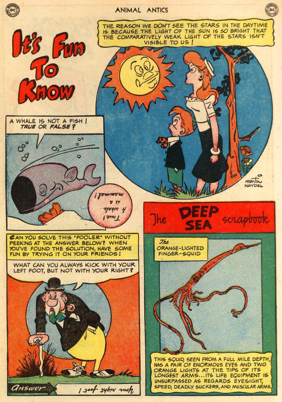 Read online Animal Antics comic -  Issue #29 - 50