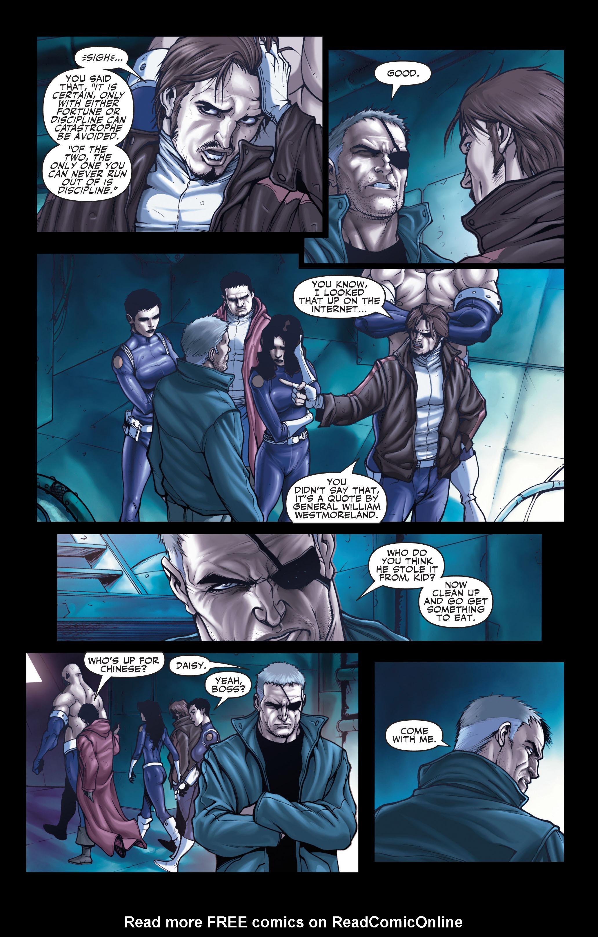 Read online Secret Warriors comic -  Issue #1 - 12