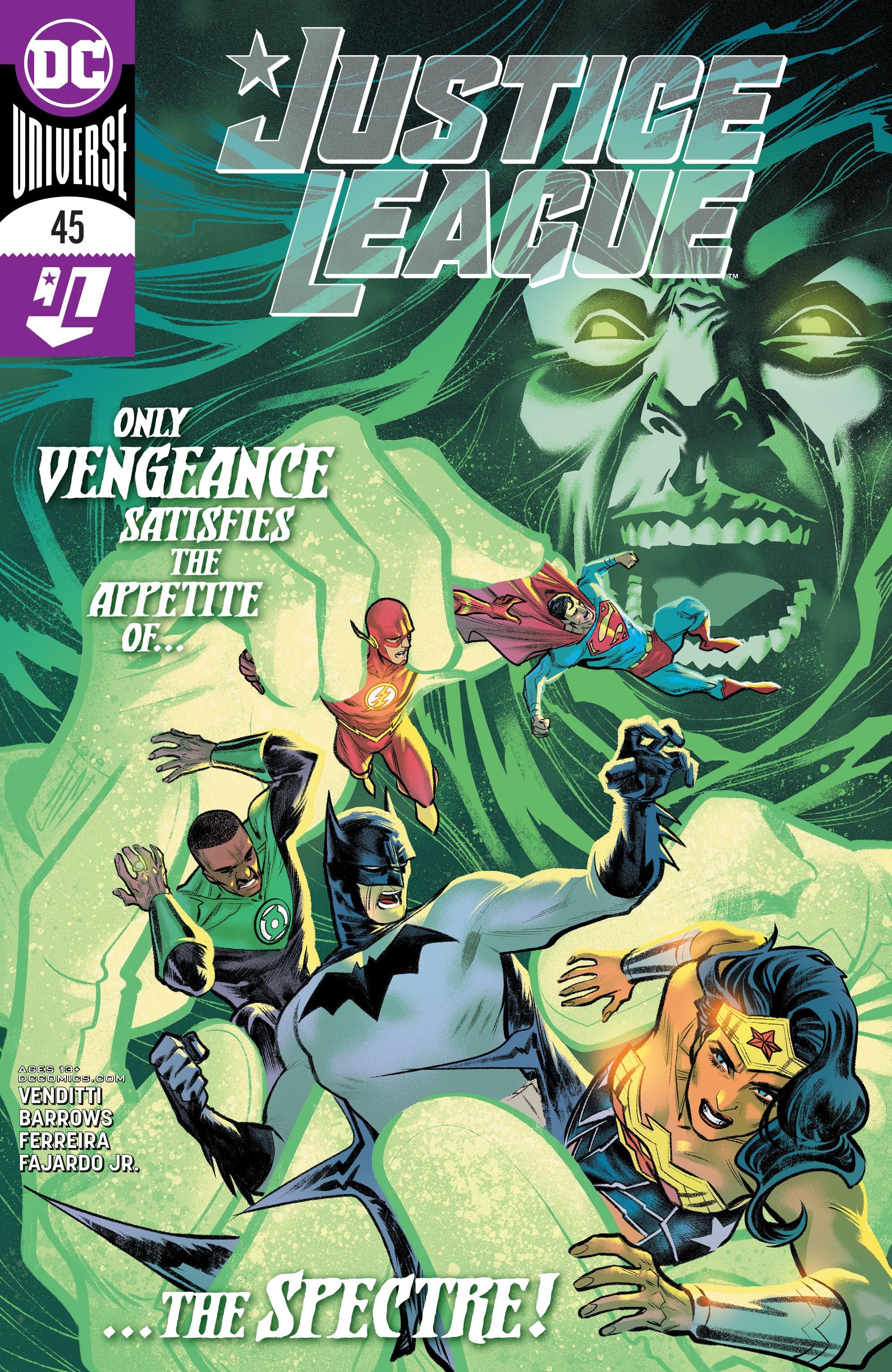 Justice League (2018) 45 Page 1