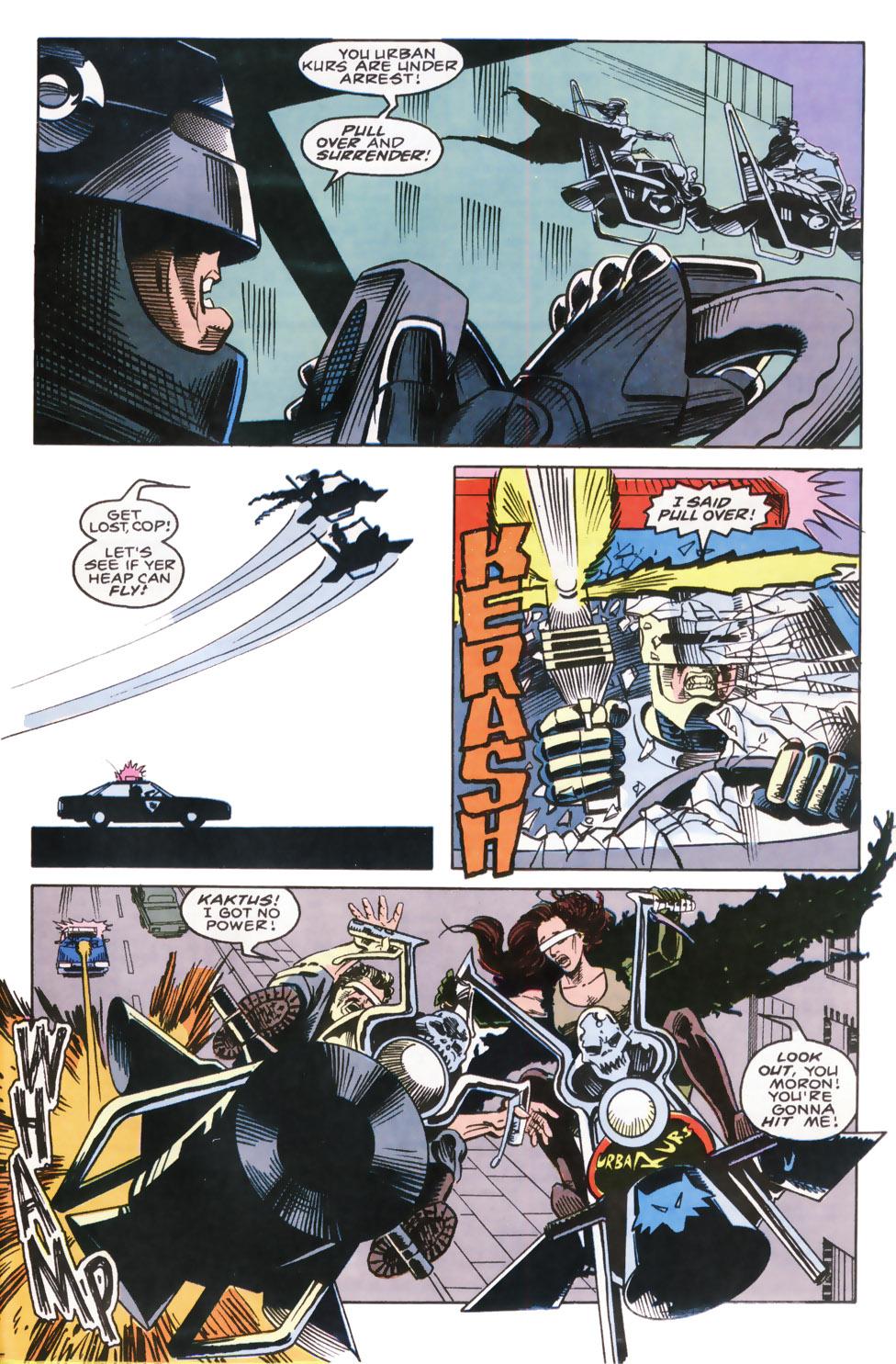 Read online Robocop (1990) comic -  Issue #9 - 22
