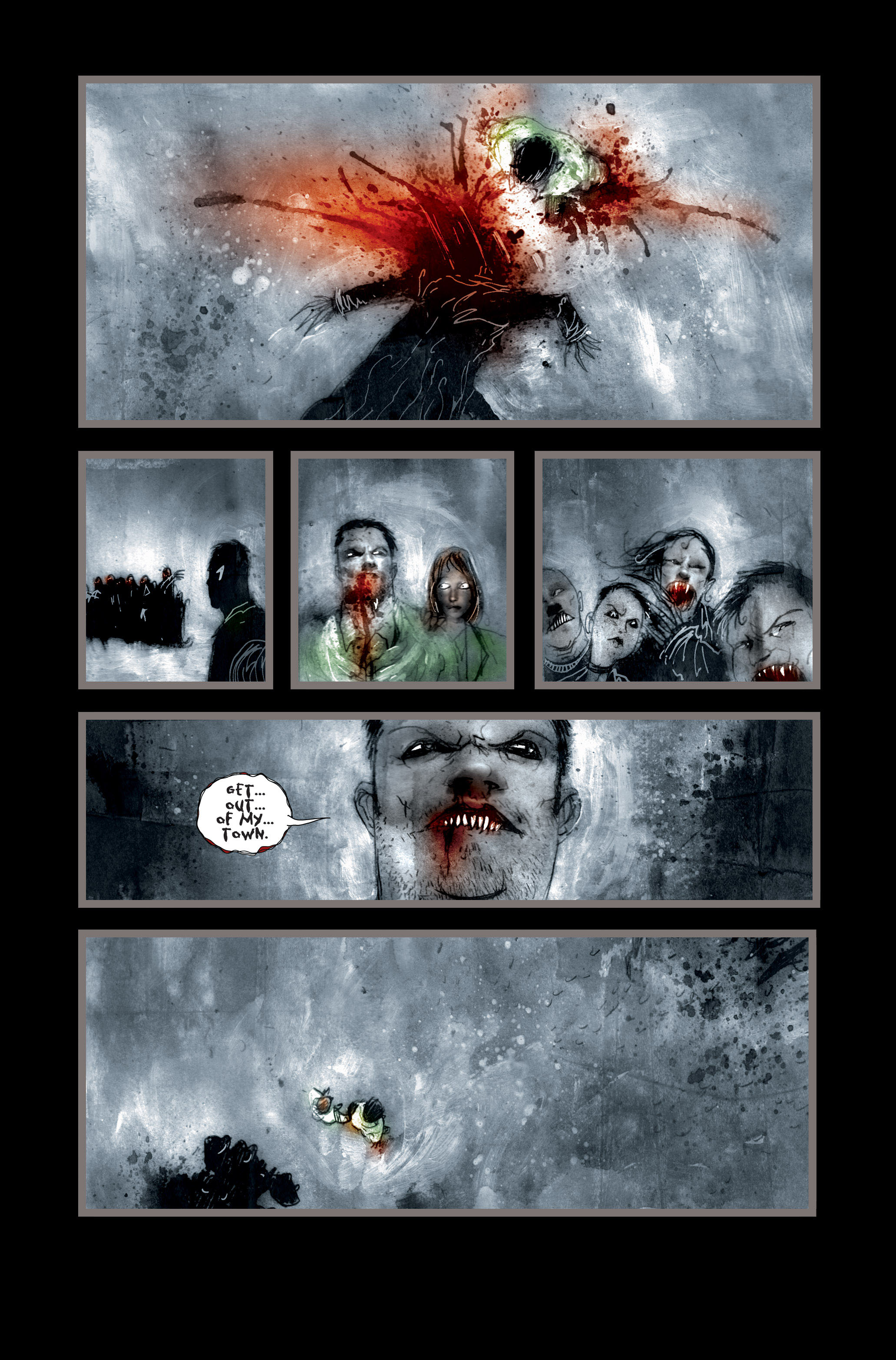 Read online 30 Days of Night (2002) comic -  Issue #3 - 24