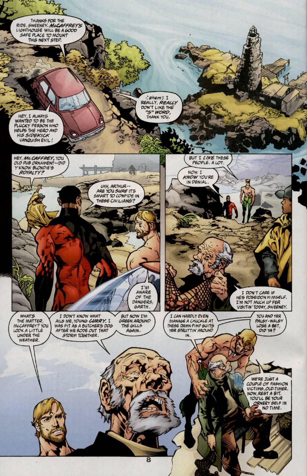 Read online Aquaman (2003) comic -  Issue #5 - 10