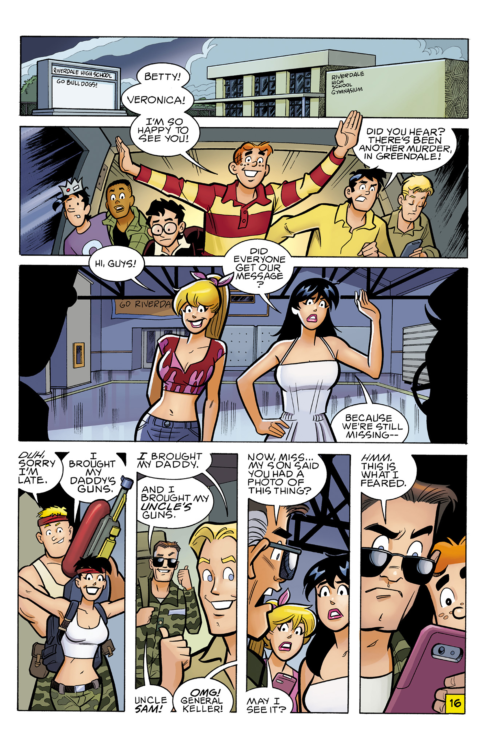 Read online Archie vs. Predator comic -  Issue #2 - 18