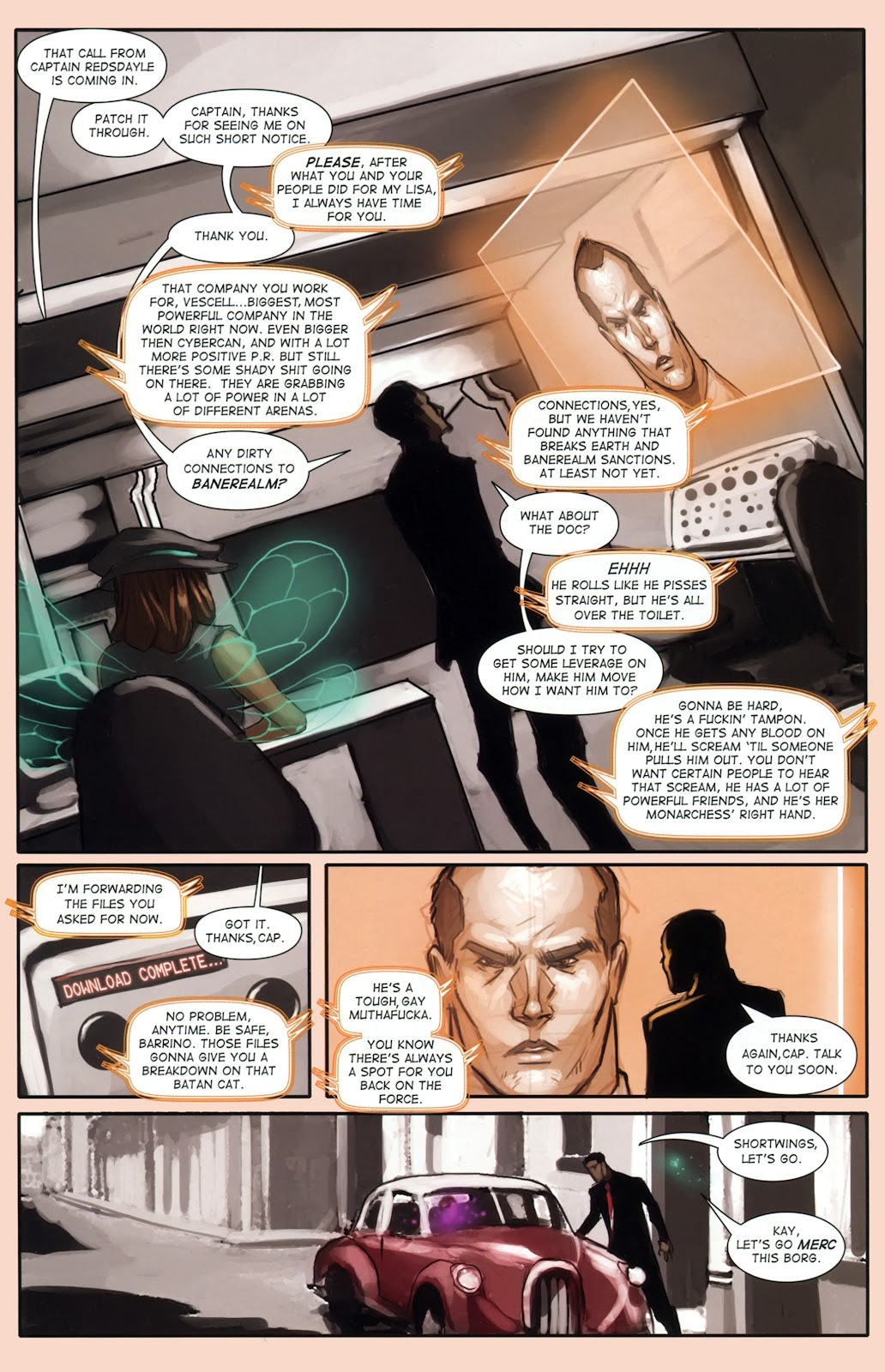 Read online Vescell comic -  Issue #1 - 22