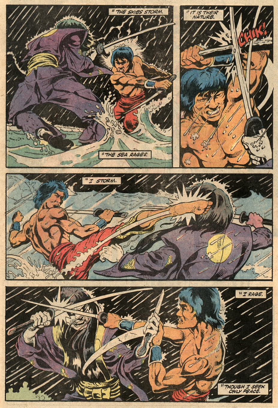 Read online Master of Kung Fu (1974) comic -  Issue #125 - 34
