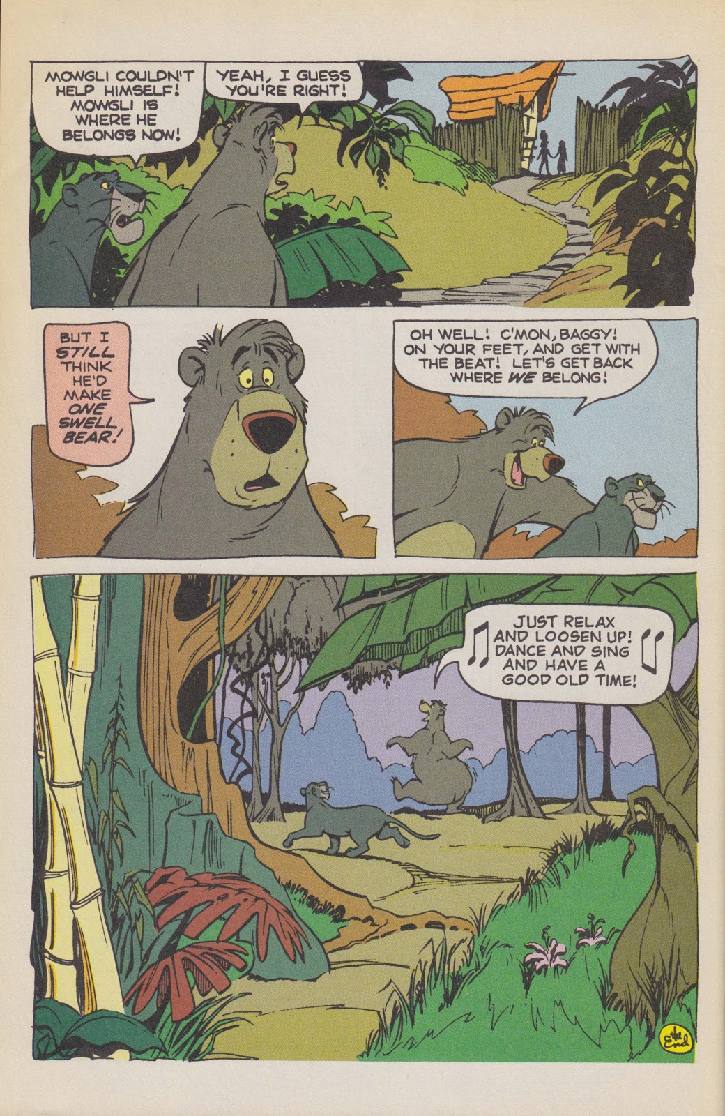 Read online The Jungle Book comic -  Issue # Full - 66