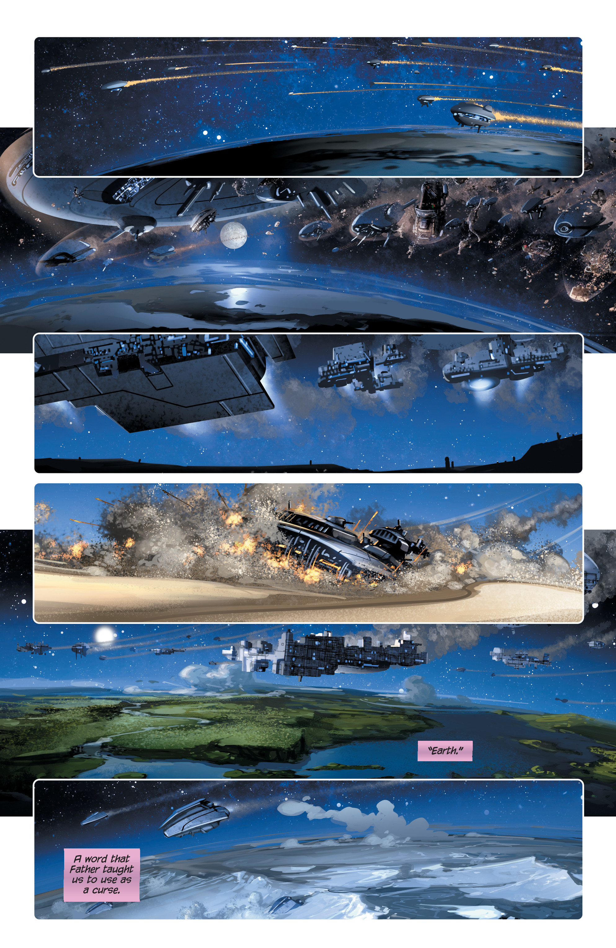Read online 4001 A.D. comic -  Issue #4 - 11
