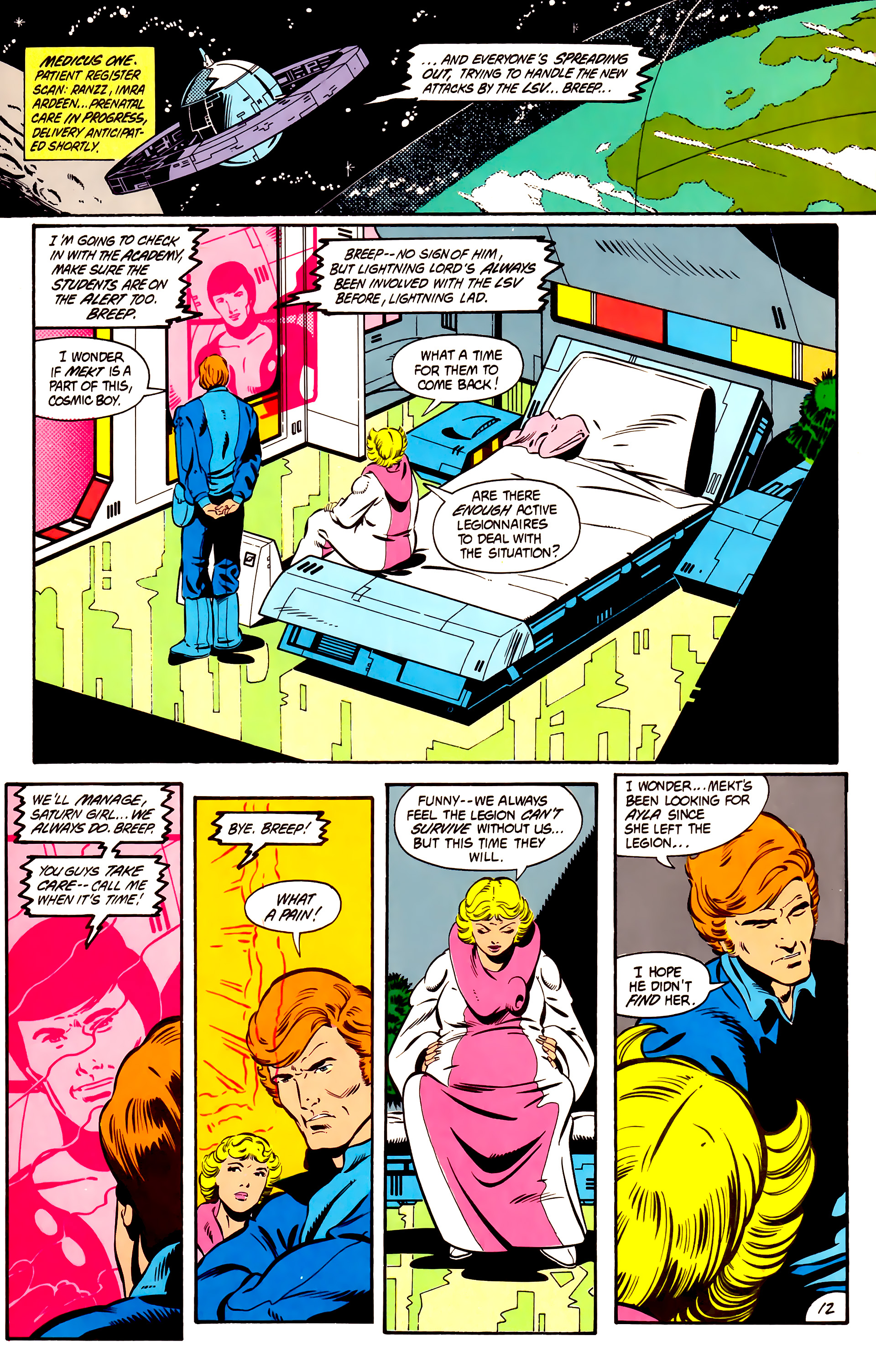 Legion of Super-Heroes (1984) 2 Page 13