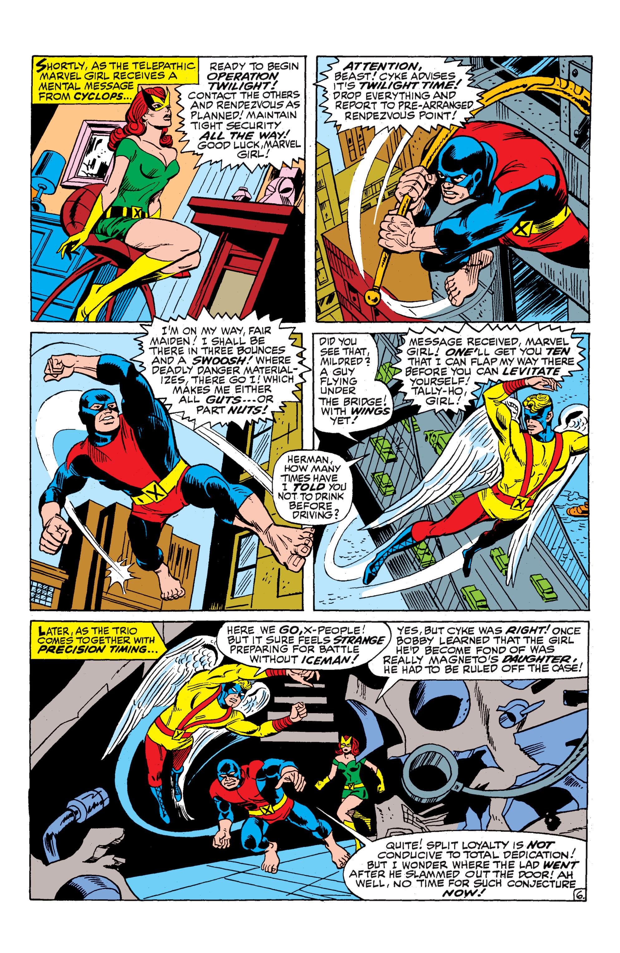 Uncanny X-Men (1963) 52 Page 6