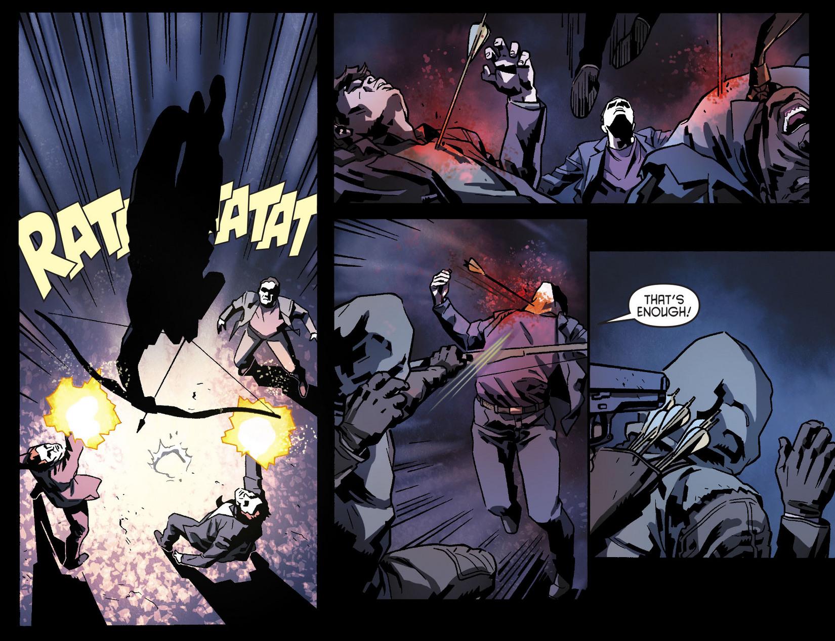 Read online Arrow [II] comic -  Issue #8 - 18