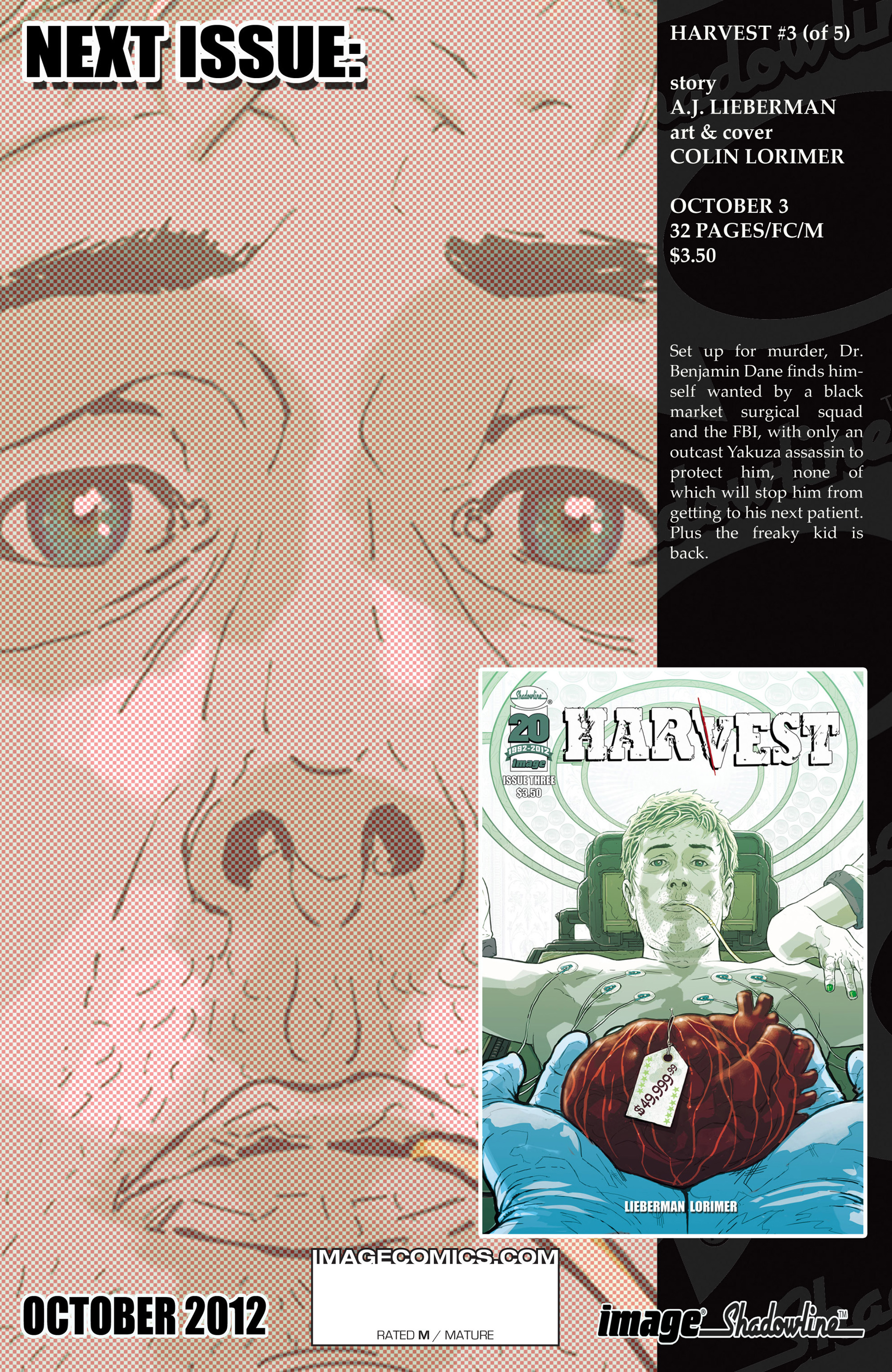 Read online Harvest comic -  Issue #2 - 31