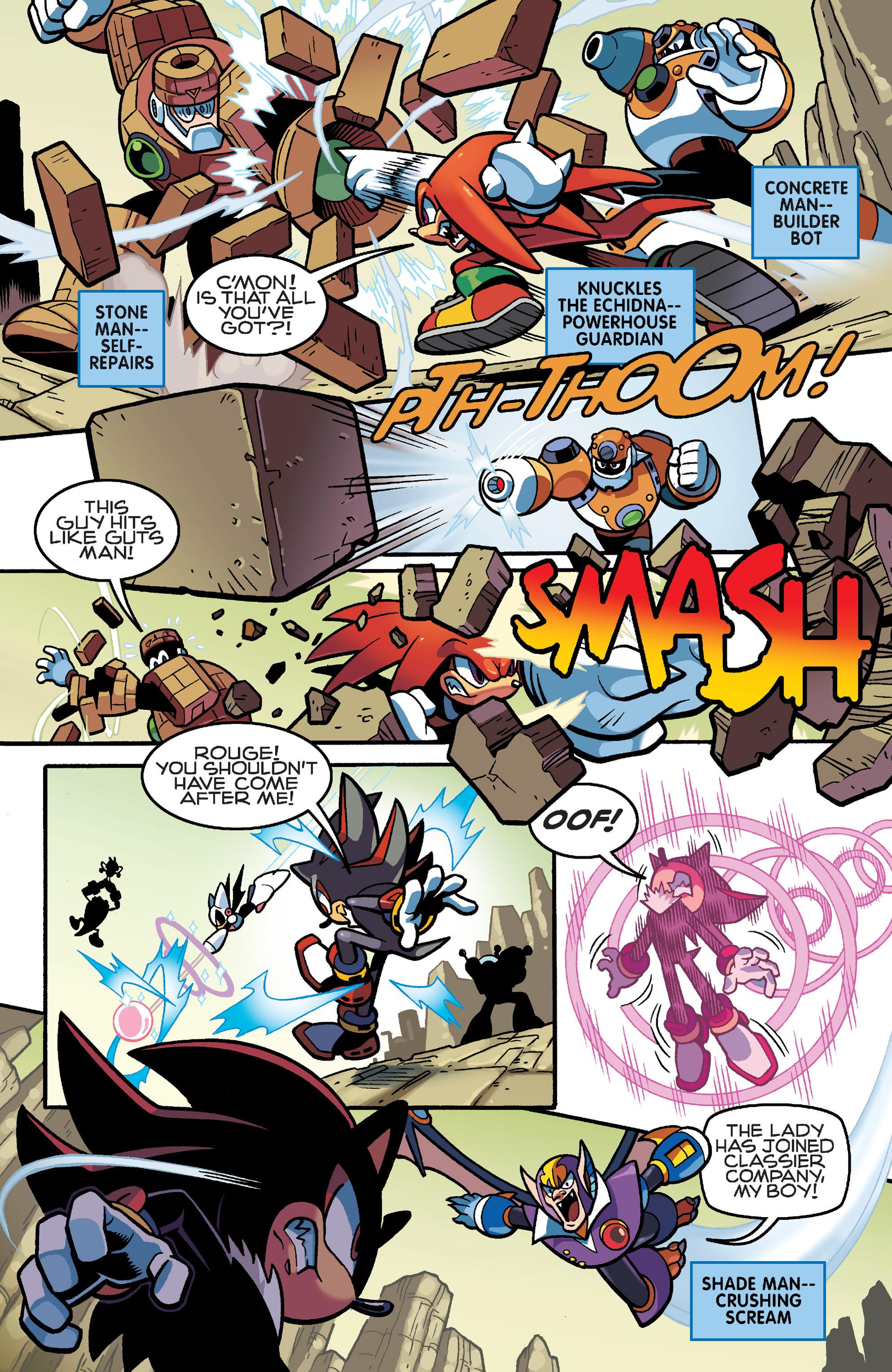 Read online Sonic Mega Man Worlds Collide comic -  Issue # Vol 3 - 21