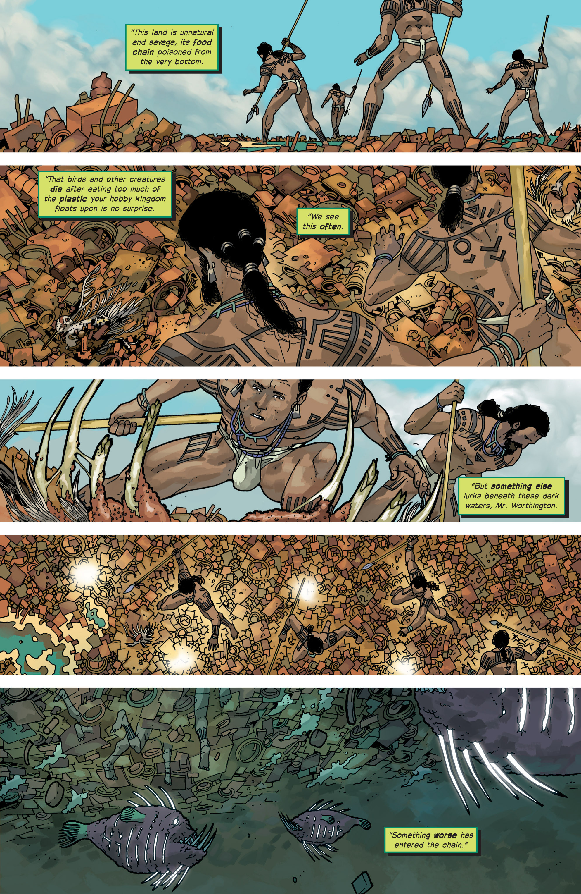 Read online Great Pacific comic -  Issue #8 - 17