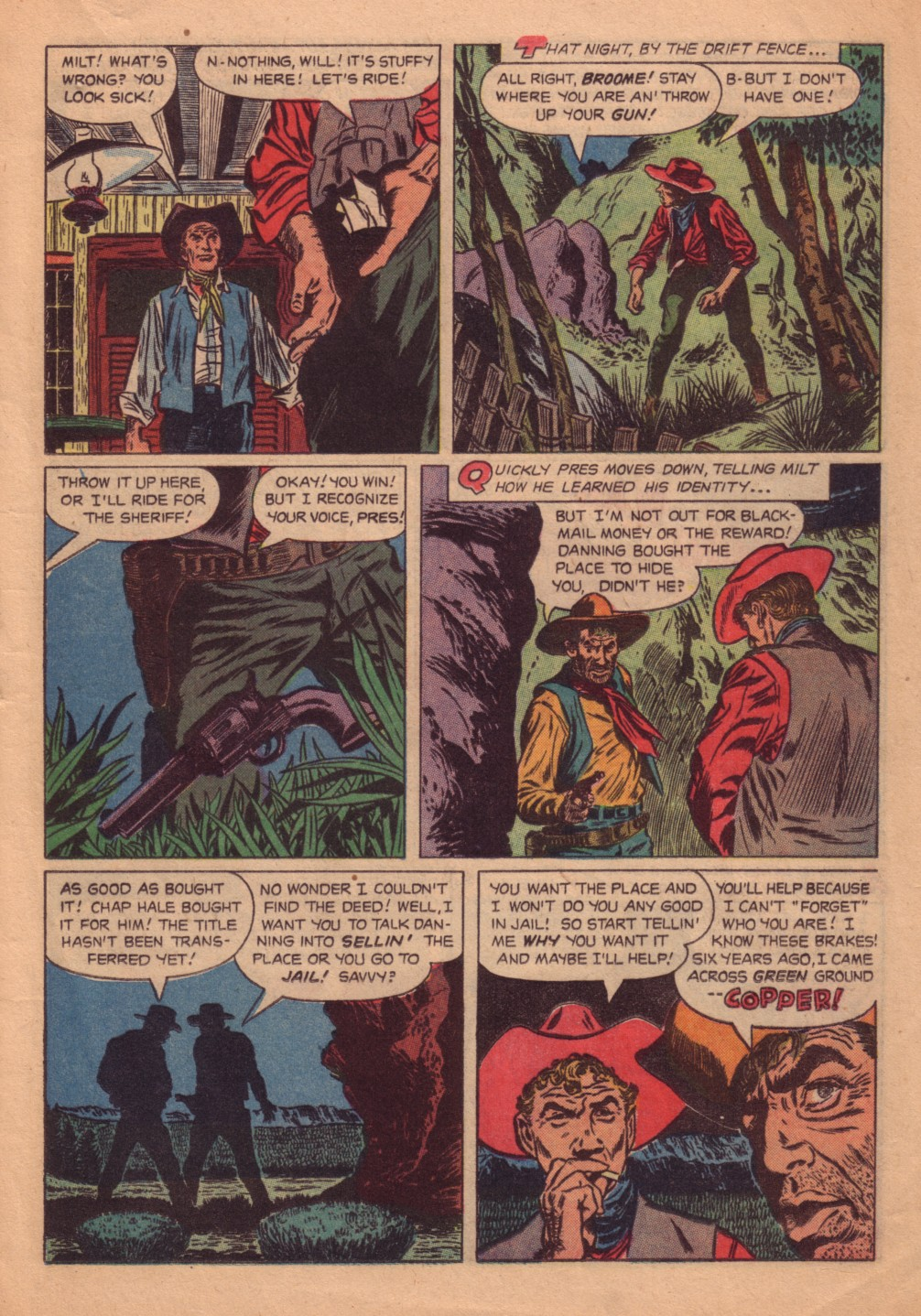 Four Color Comics issue 580 - Page 13