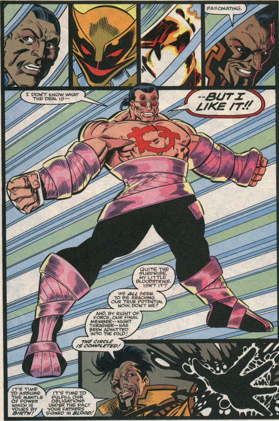The New Warriors Issue #21 #25 - English 16