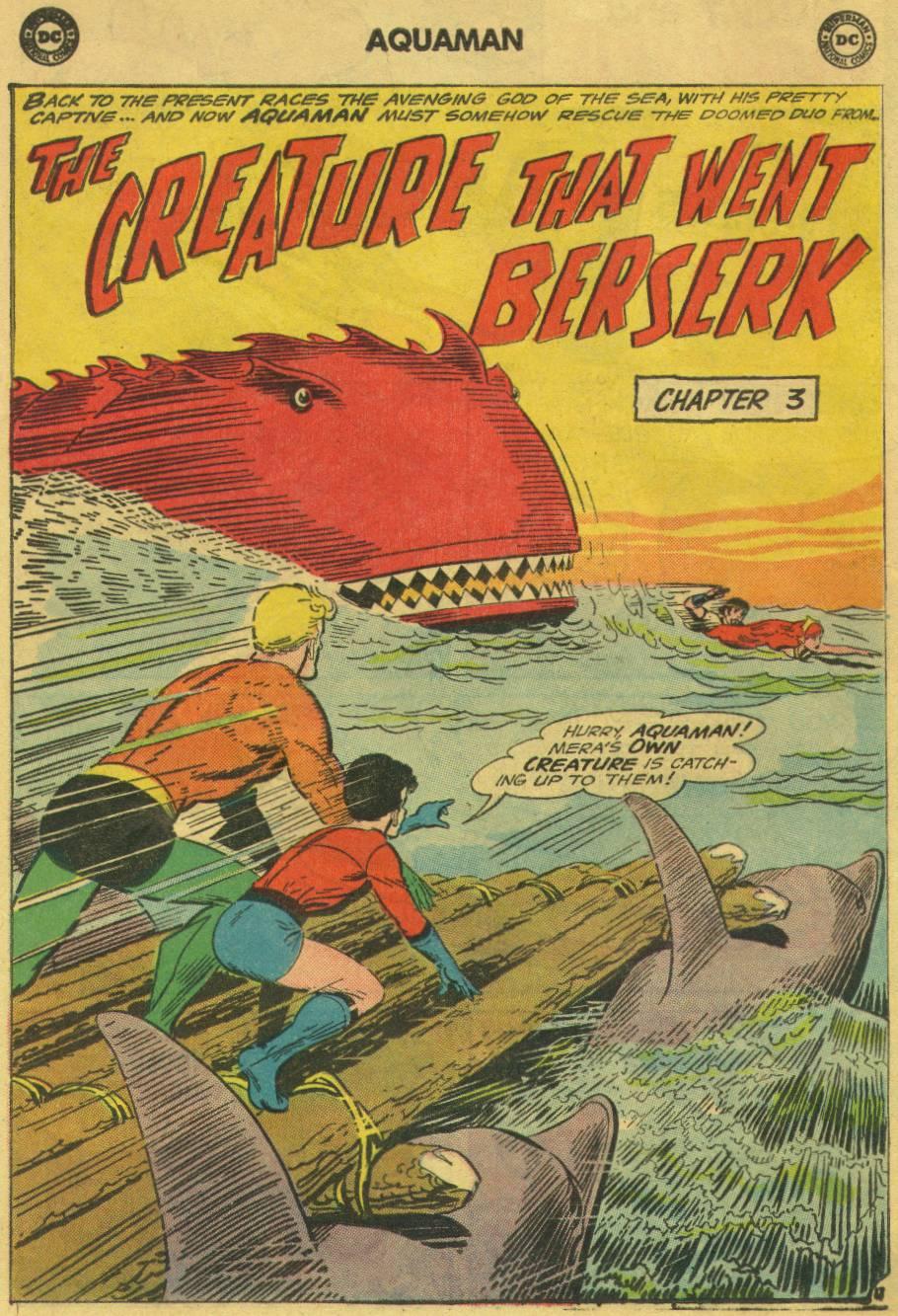 Read online Aquaman (1962) comic -  Issue #17 - 24