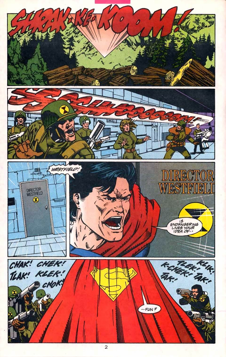 Read online Adventures of Superman (1987) comic -  Issue #513 - 3