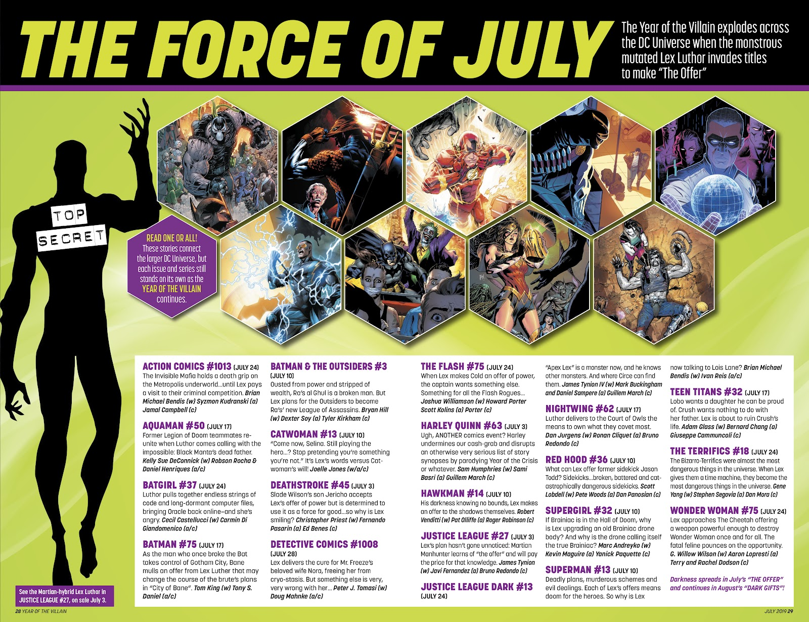Read online DC's Year of the Villain Special comic -  Issue # Full - 28