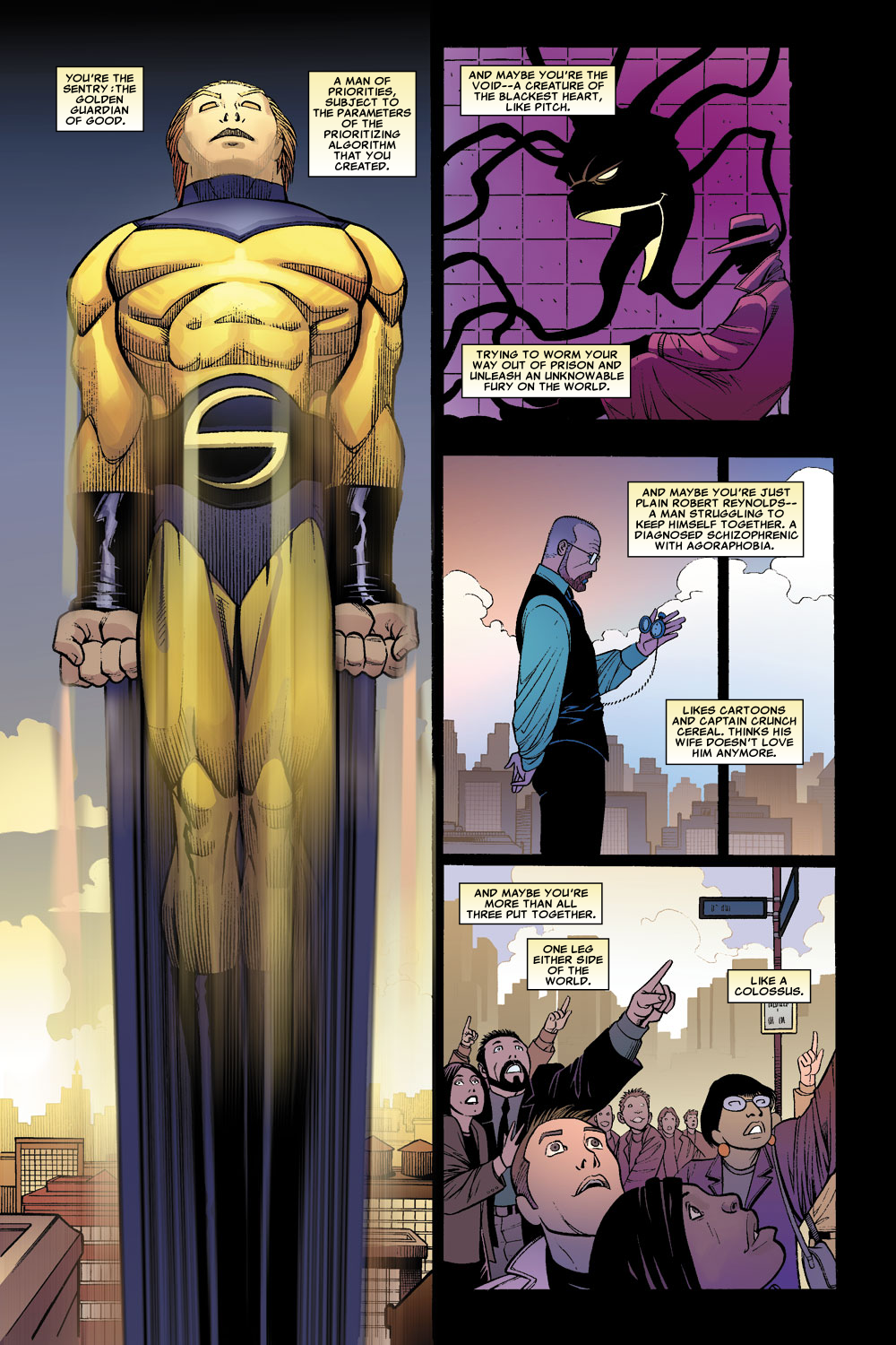 Read online Sentry (2006) comic -  Issue #1 - 22
