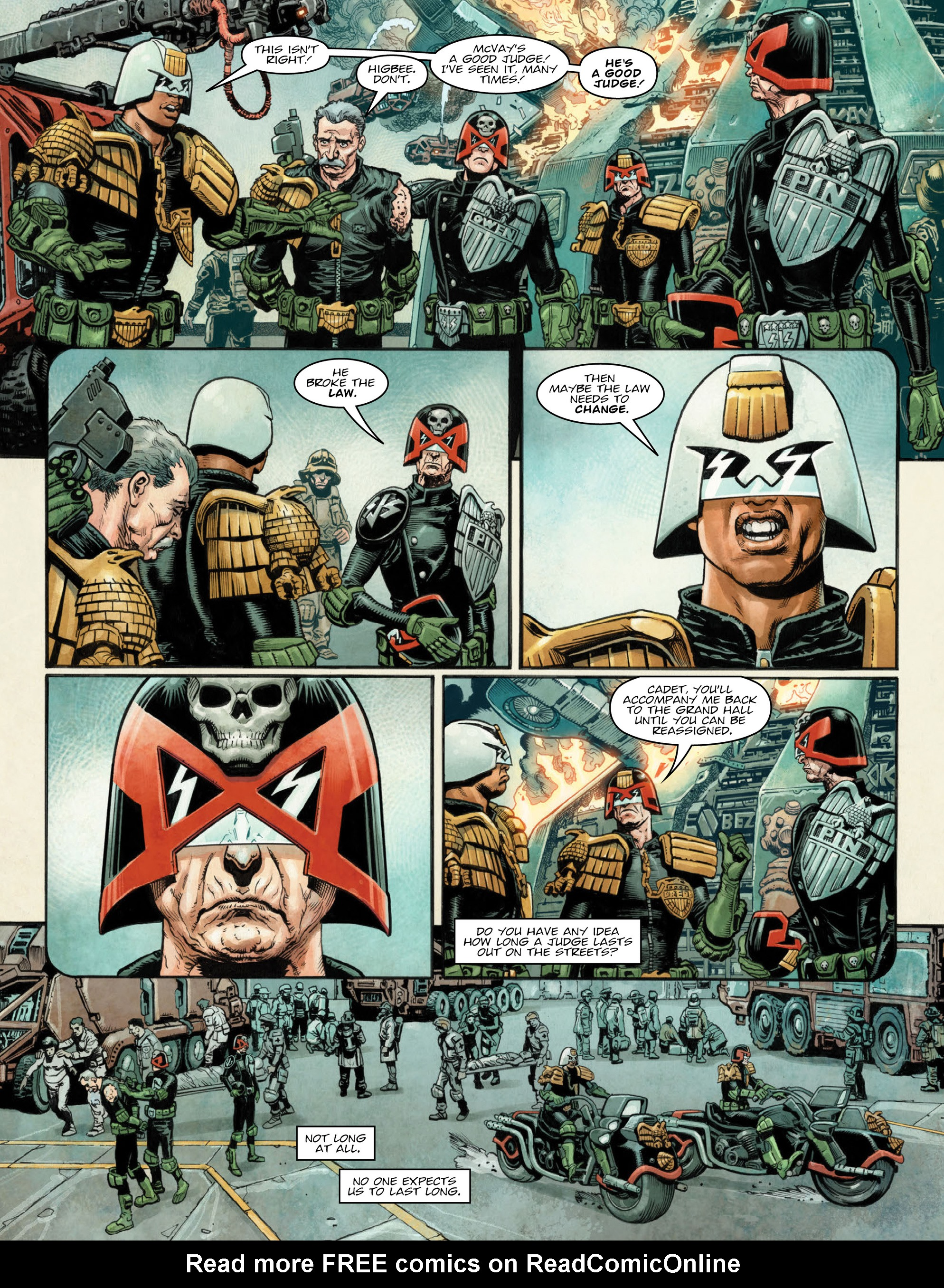 Read online 2000 AD comic -  Issue #2035 - 7