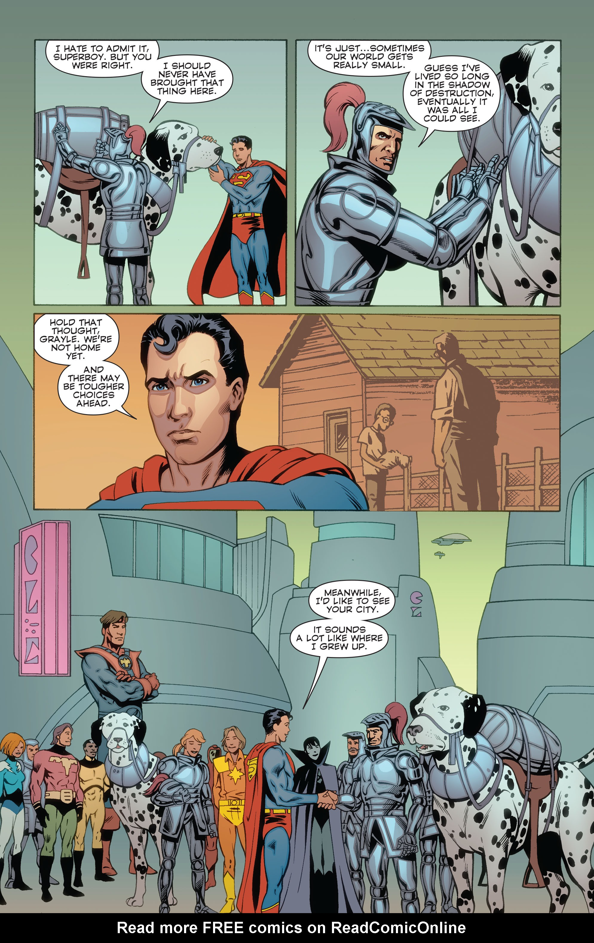 Read online Convergence Superboy and the Legion of Super-Heroes comic -  Issue #2 - 22