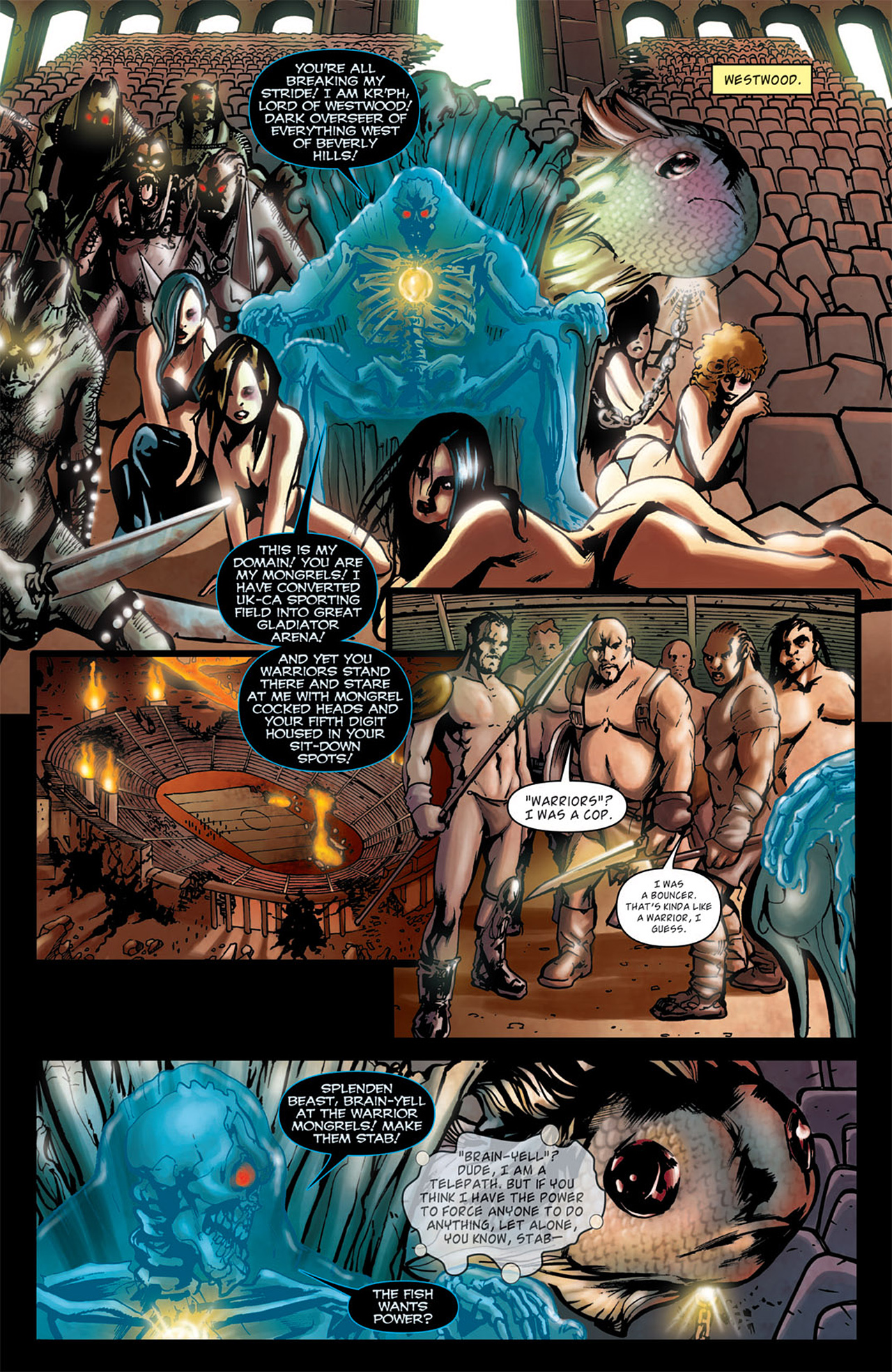 Read online Angel: After The Fall comic -  Issue #1 - 19