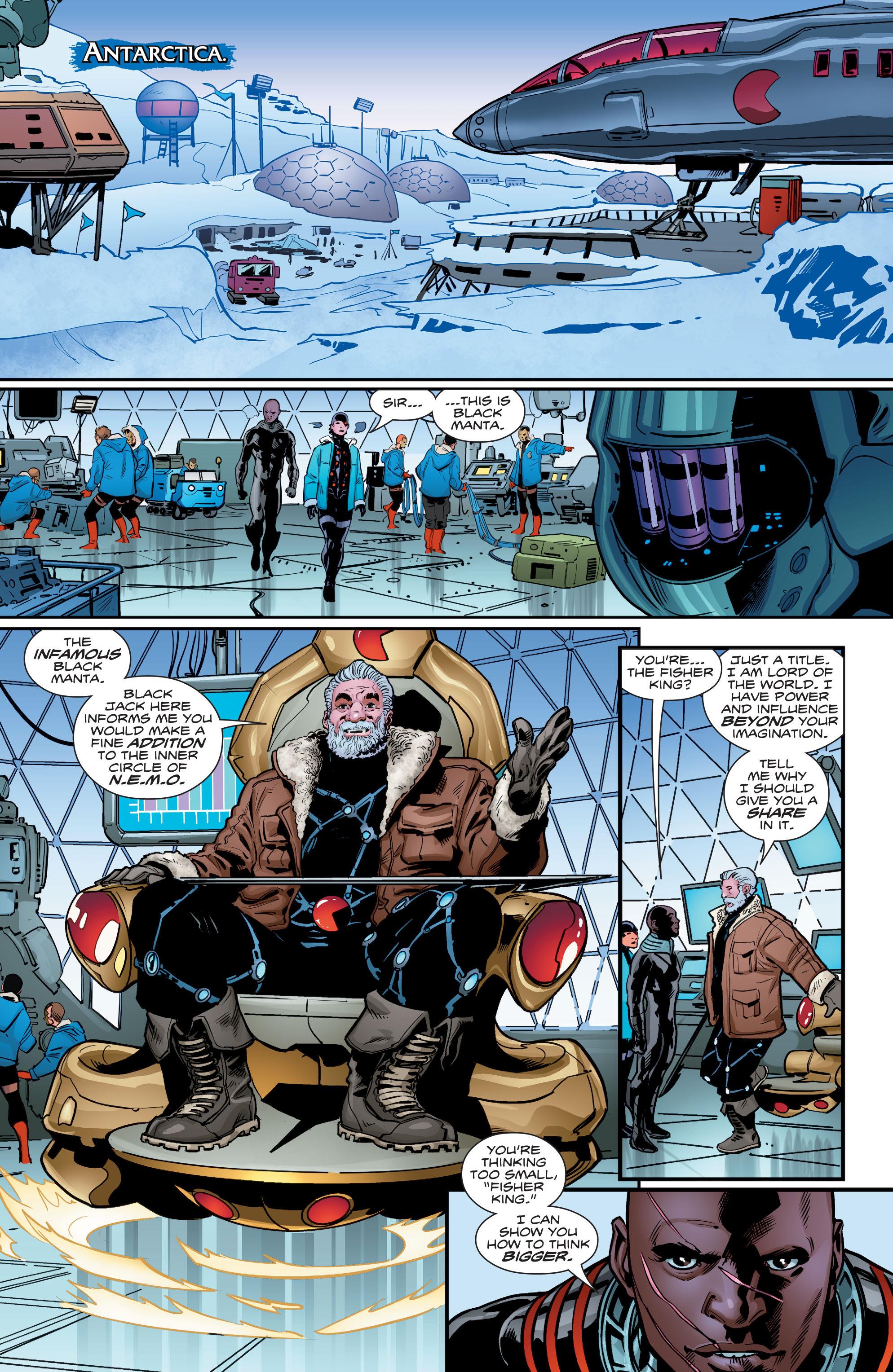 Read online Aquaman (2016) comic -  Issue #5 - 18