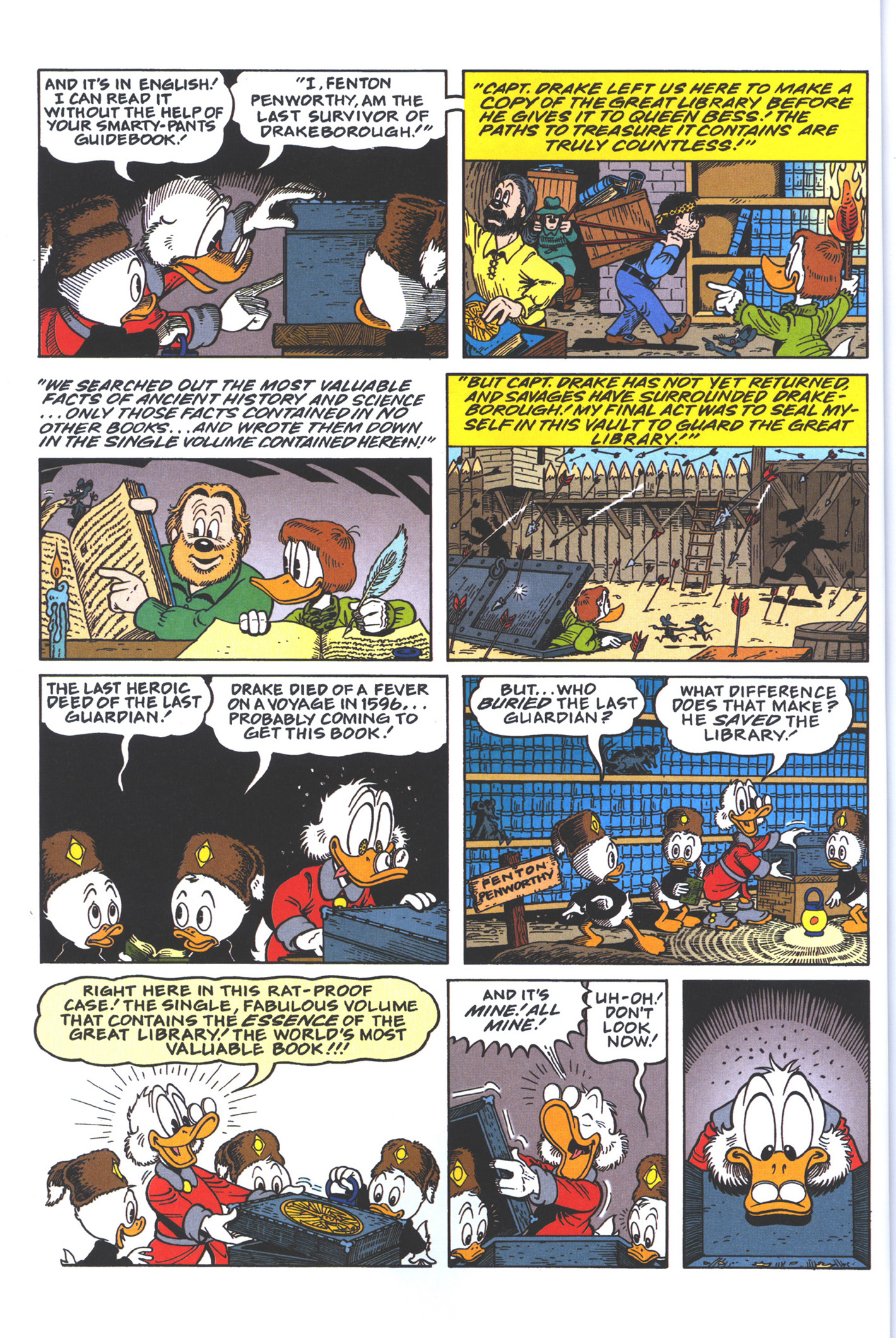 Read online Uncle Scrooge (1953) comic -  Issue #383 - 28