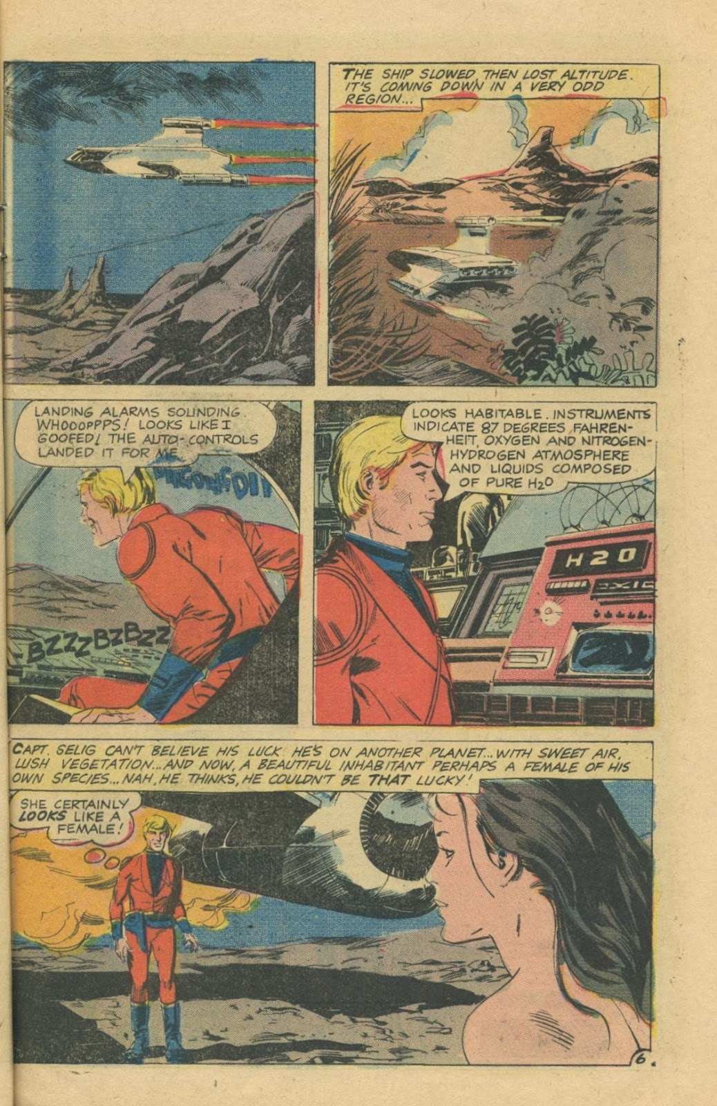 Space Adventures (1968) issue 8 - Page 9