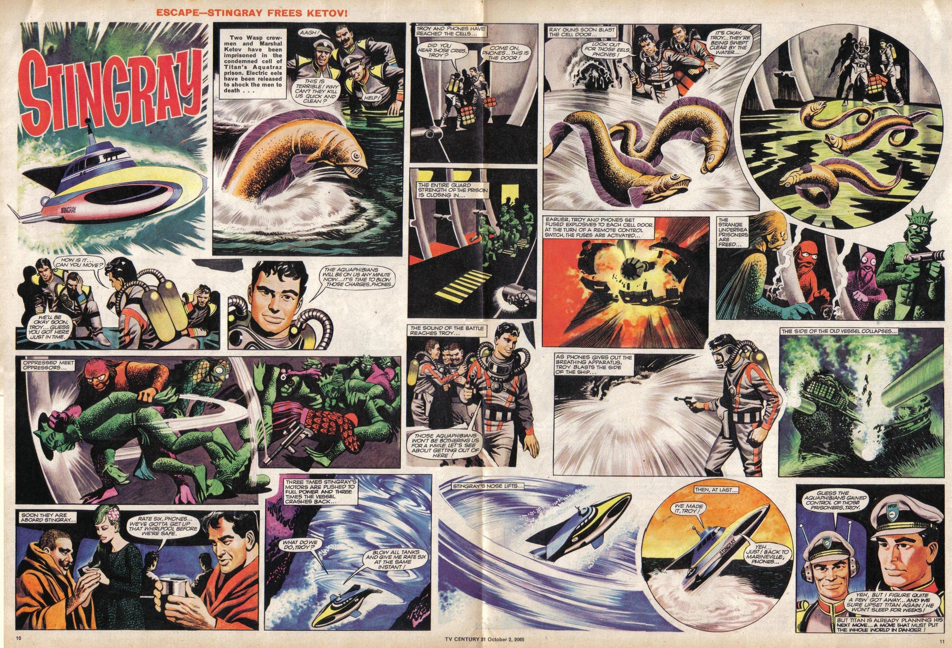 Read online TV Century 21 (TV 21) comic -  Issue #37 - 10