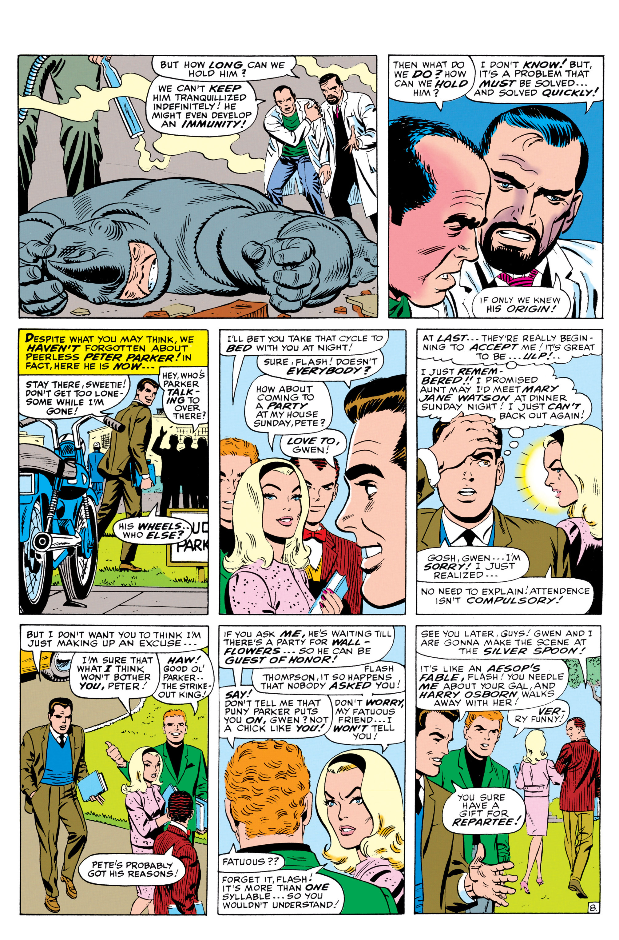 The Amazing Spider-Man (1963) 42 Page 8
