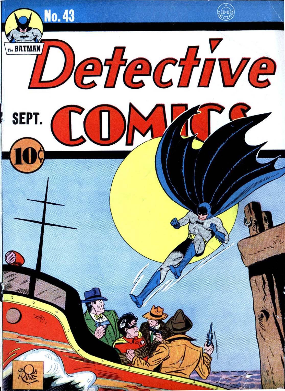 Read online Detective Comics (1937) comic -  Issue #43 - 1