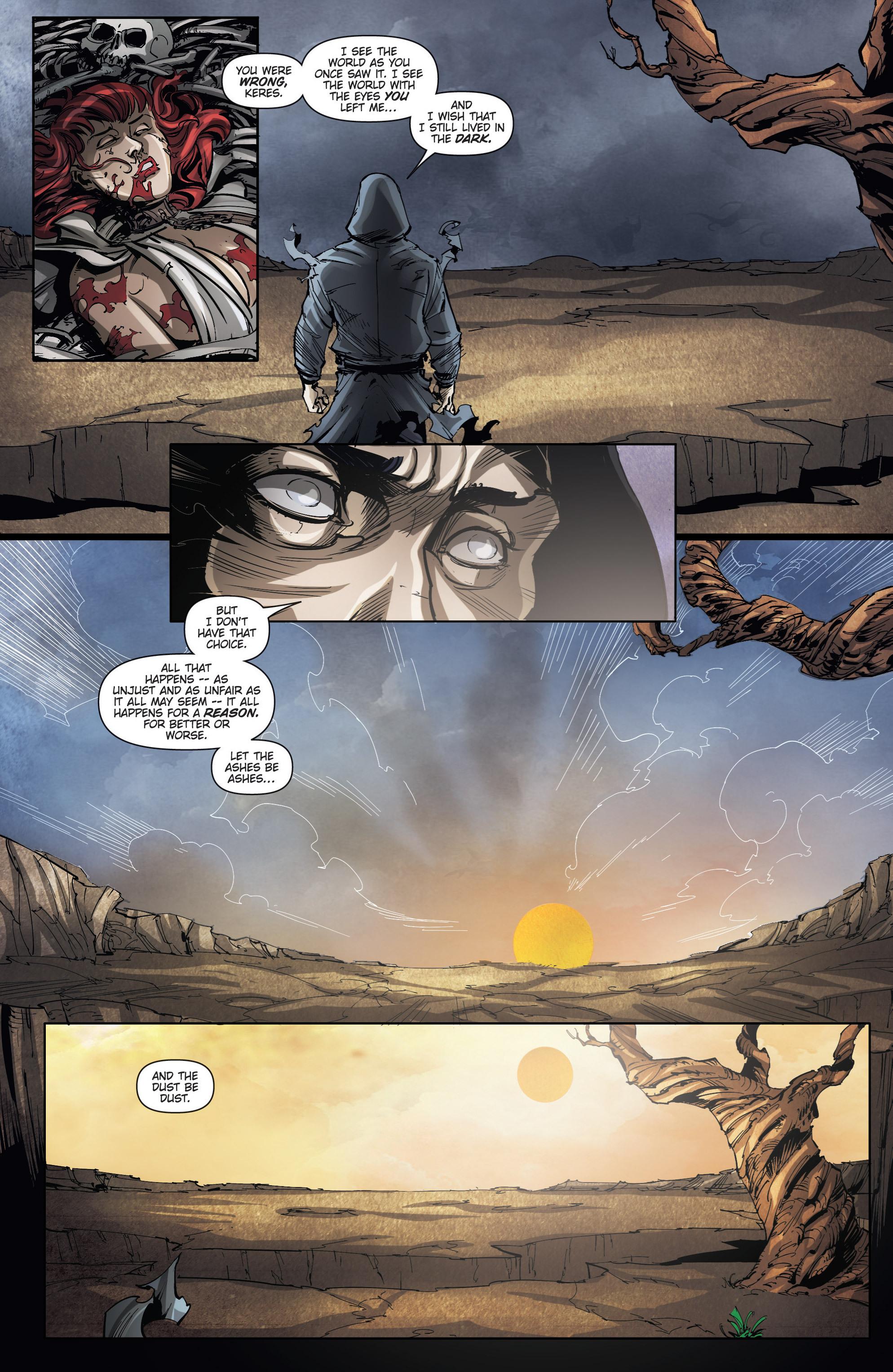 Read online Grimm Fairy Tales presents No Tomorrow comic -  Issue # TPB - 113