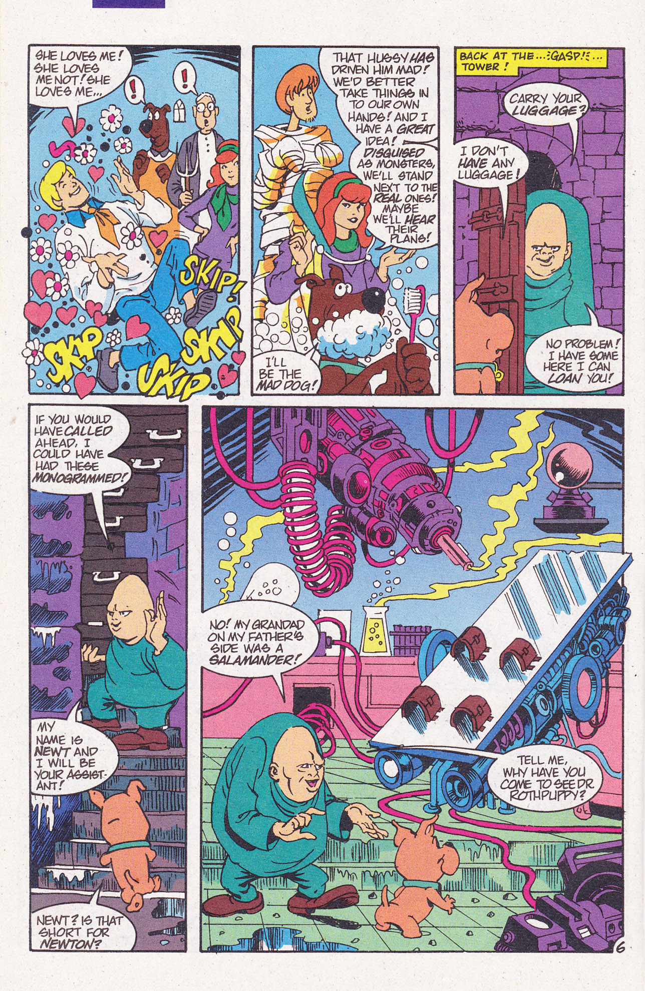 Read online Scooby-Doo (1995) comic -  Issue #7 - 8