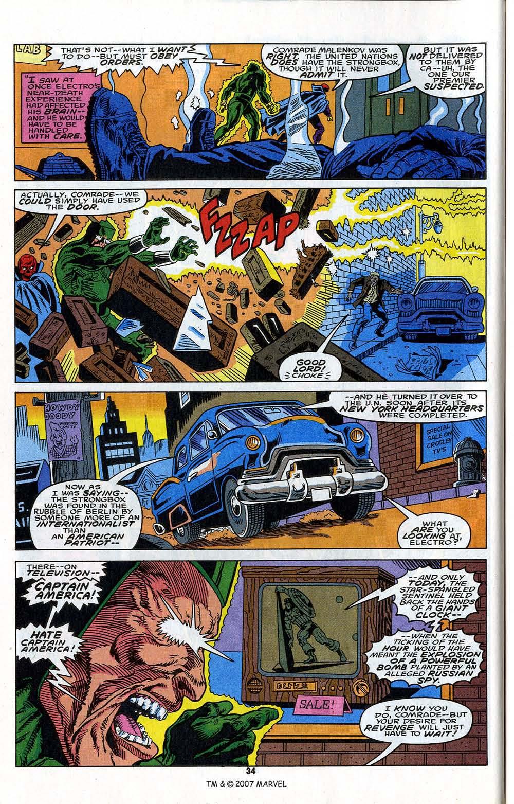 Read online Captain America (1968) comic -  Issue # _Annual 13 - 36