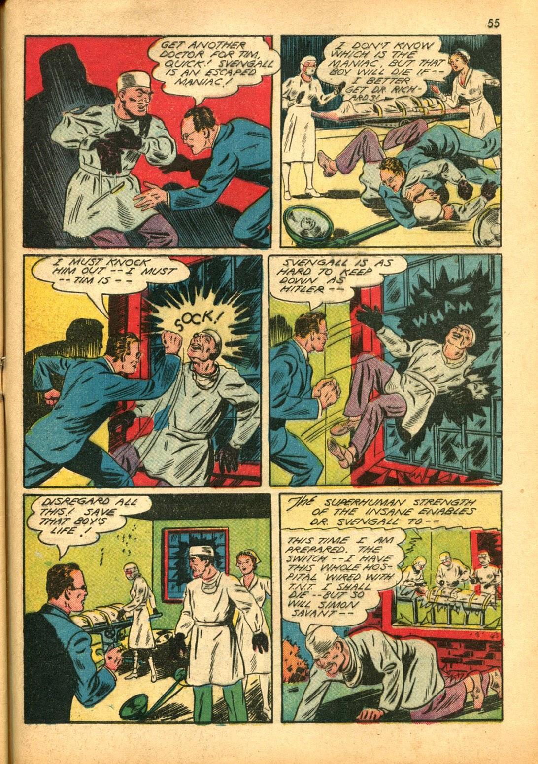 Read online Super-Magician Comics comic -  Issue #15 - 54